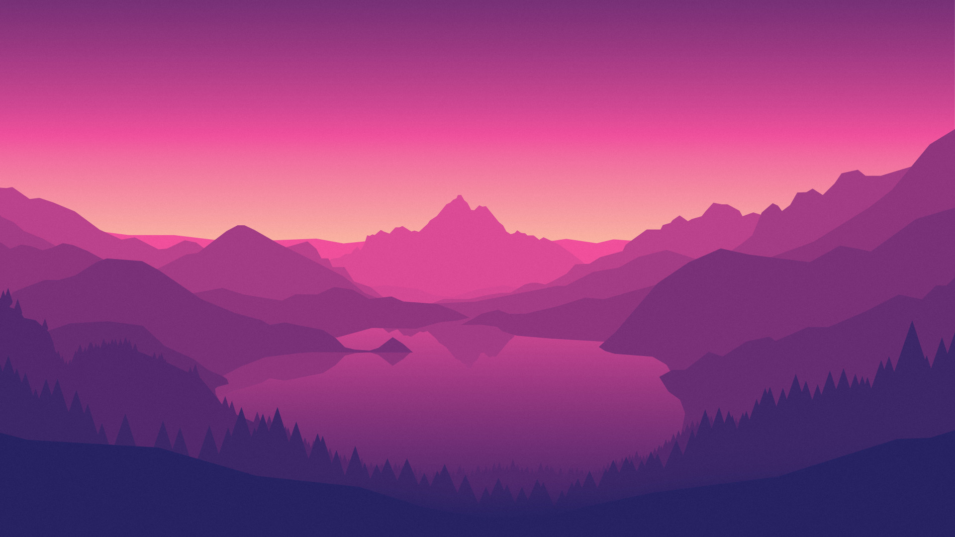Purple and Orange Wallpaper (80+ images)
