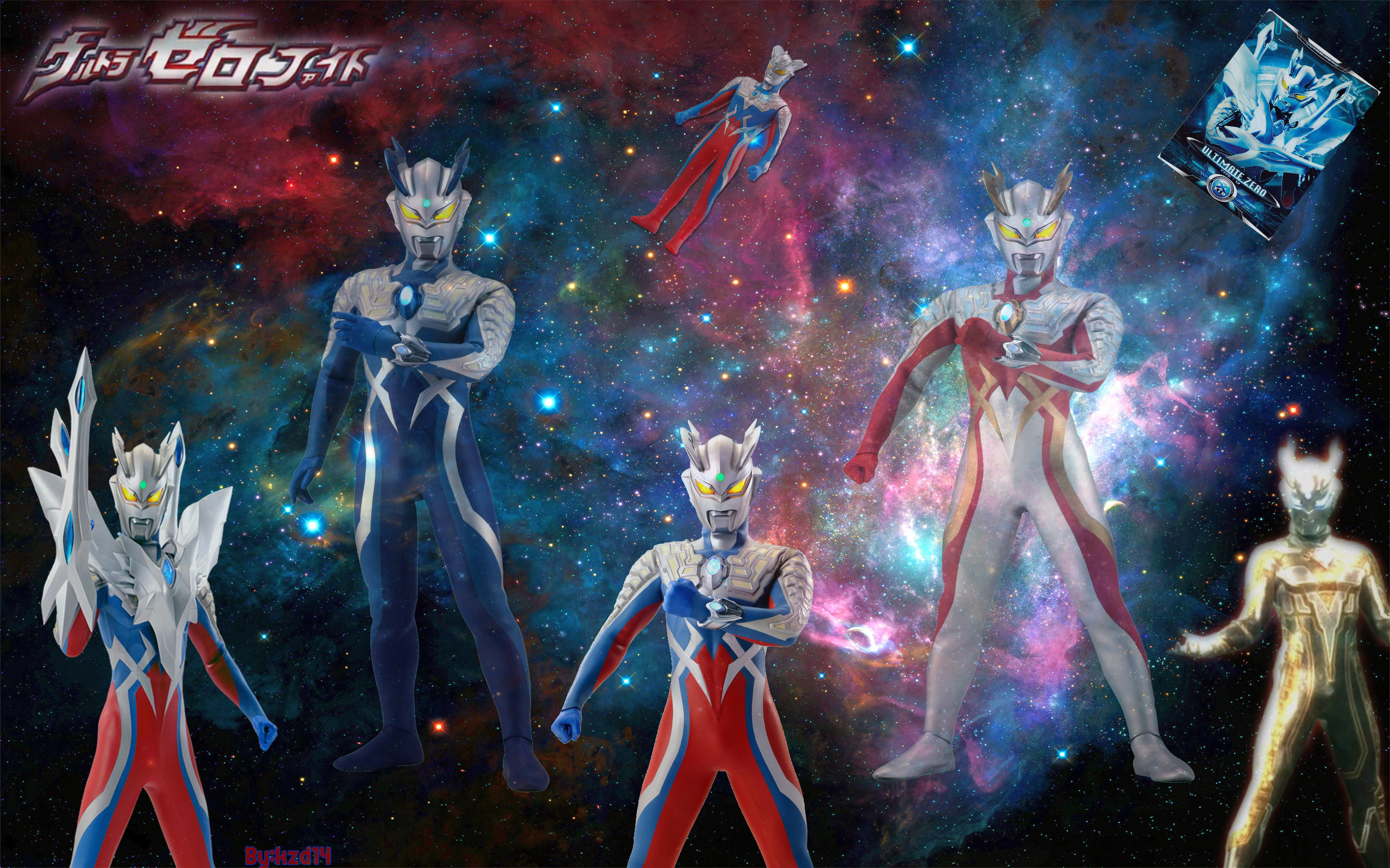 2560x1600 Ultraman zero all form by Kzd14 Ultraman zero all form by Kzd14
