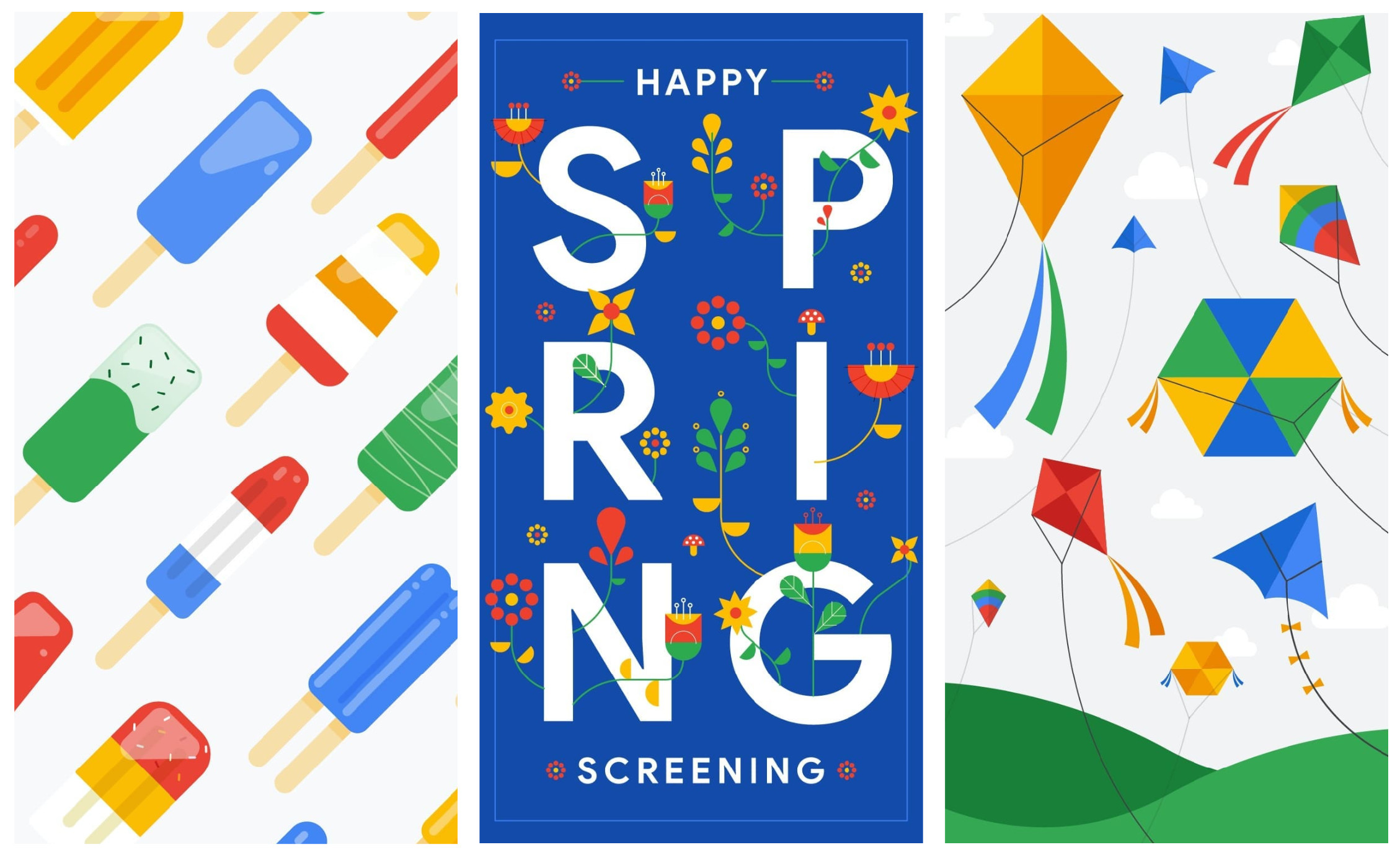 Res: 2258x1379, ... is finally relenting, and Google seems to be getting into the vernal  spirit: the company shared a number of spring-themed wallpapers on its  Instagram ...