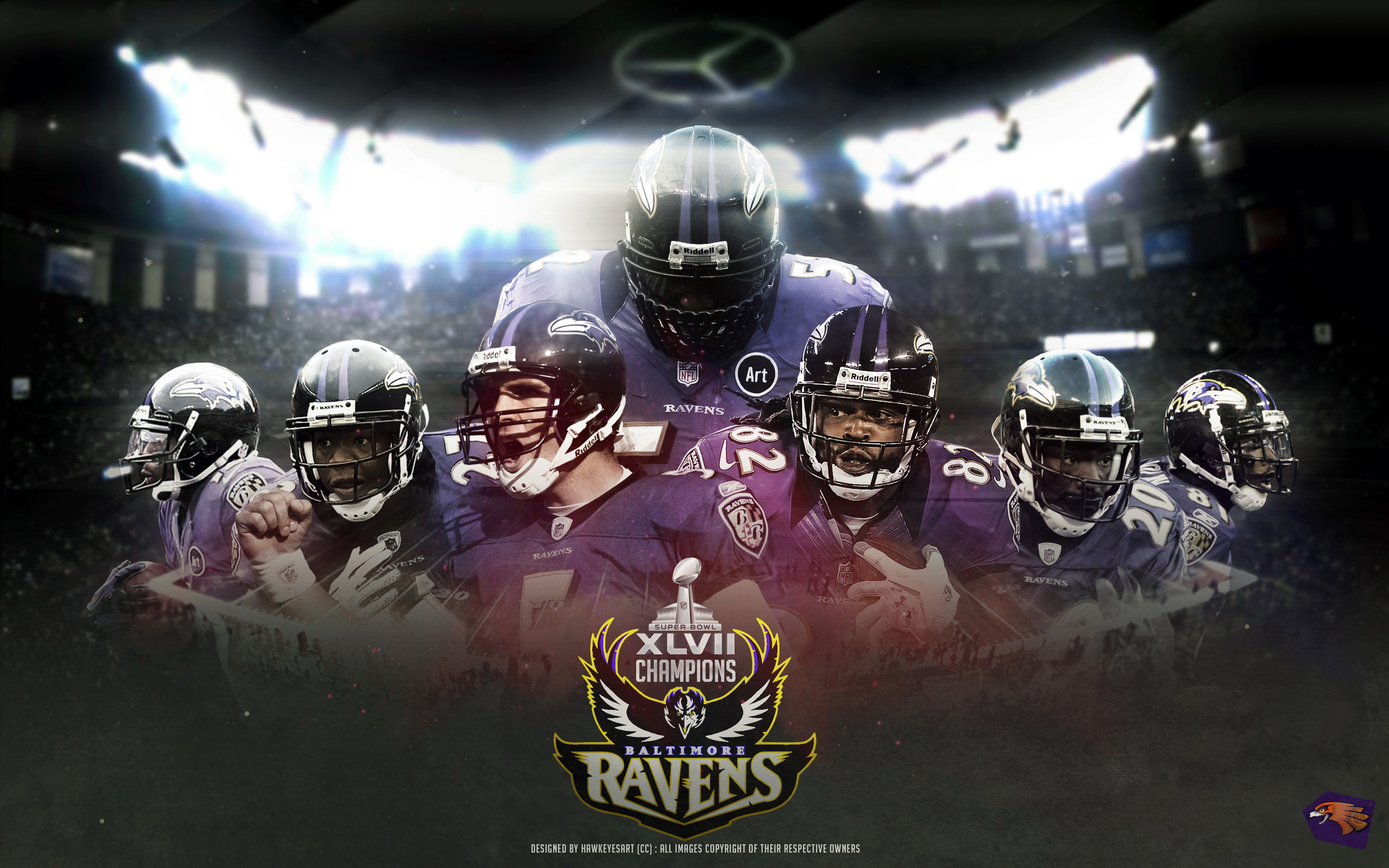 2560x1600 Baltimore Wallpaper 1440x900: Download Baltimore Ravens Wallpaper  Backgrounds Free Ocn px