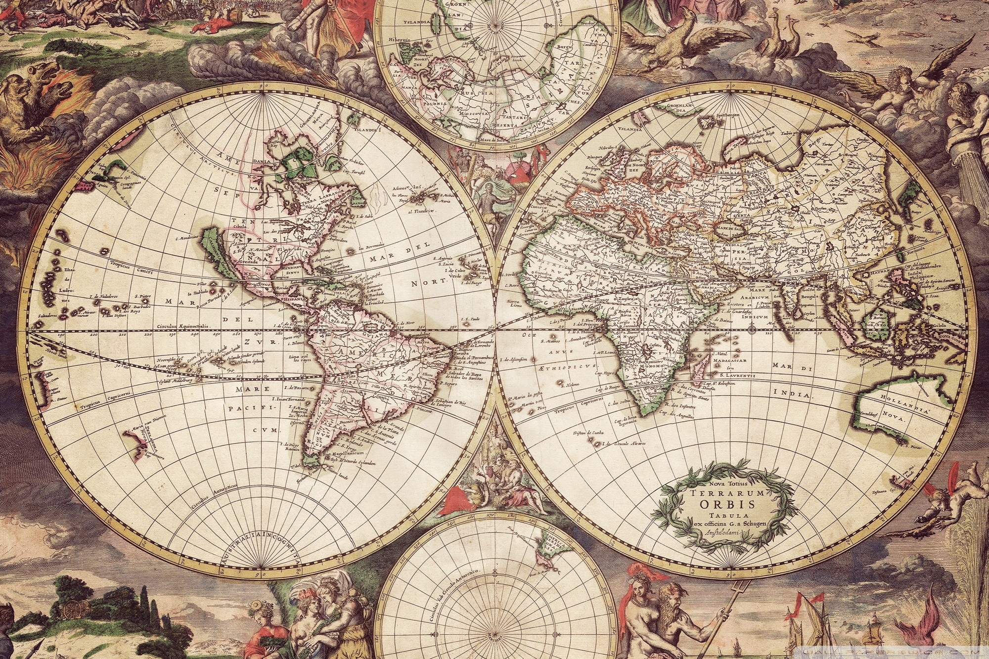 Antique world map wallpaper 39 images 3000x2032 vintage world map wallpaper gumiabroncs Choice Image