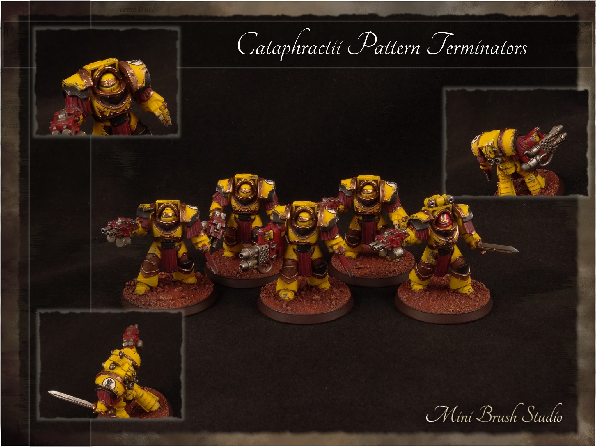 2048x1536 Forge World - Cataphractii Pattern Terminators ( Imperial Fists - Betrayal  at Calth ) - YouTube