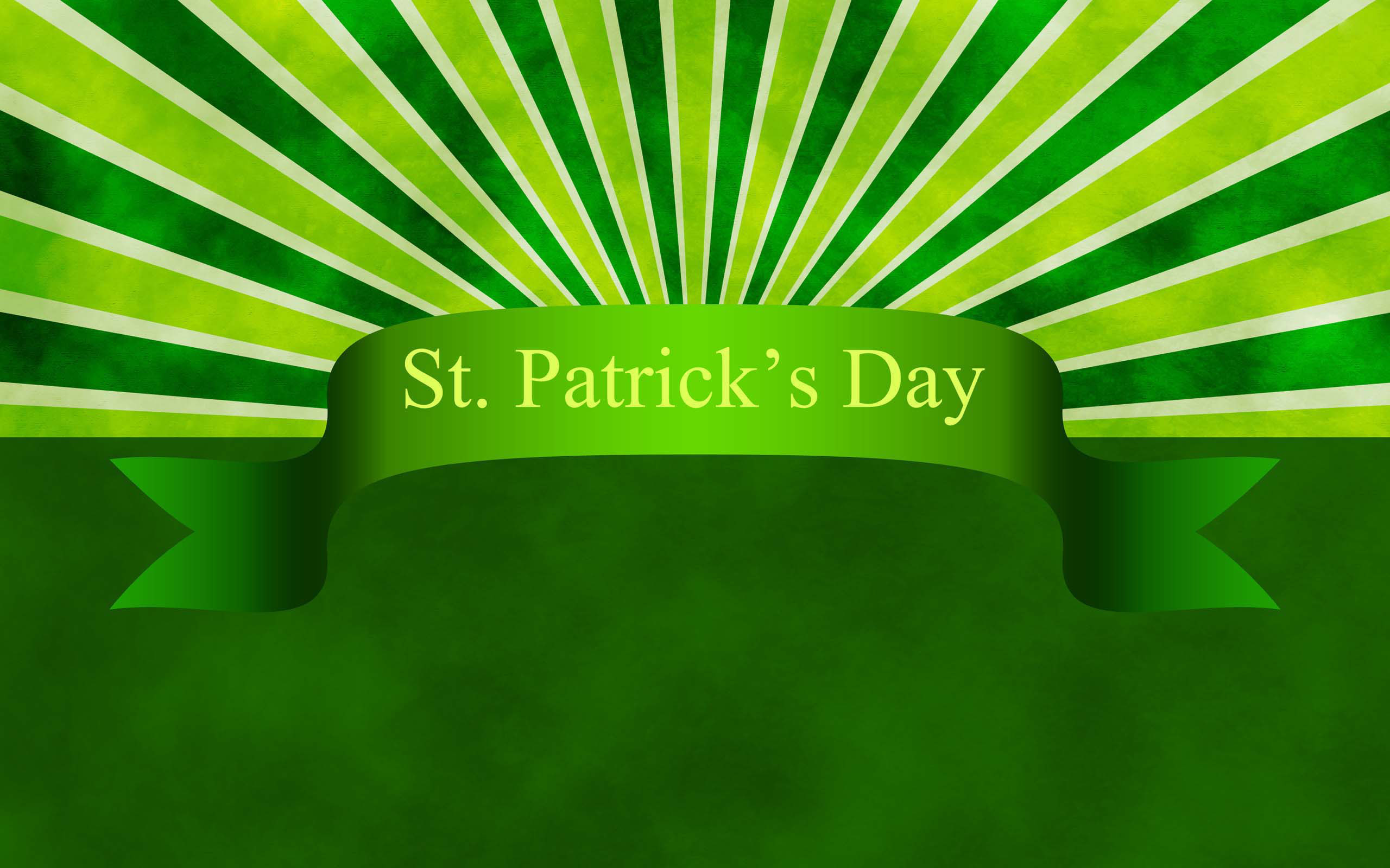 2560x1600 Holiday - St. Patrick's Day Wallpaper
