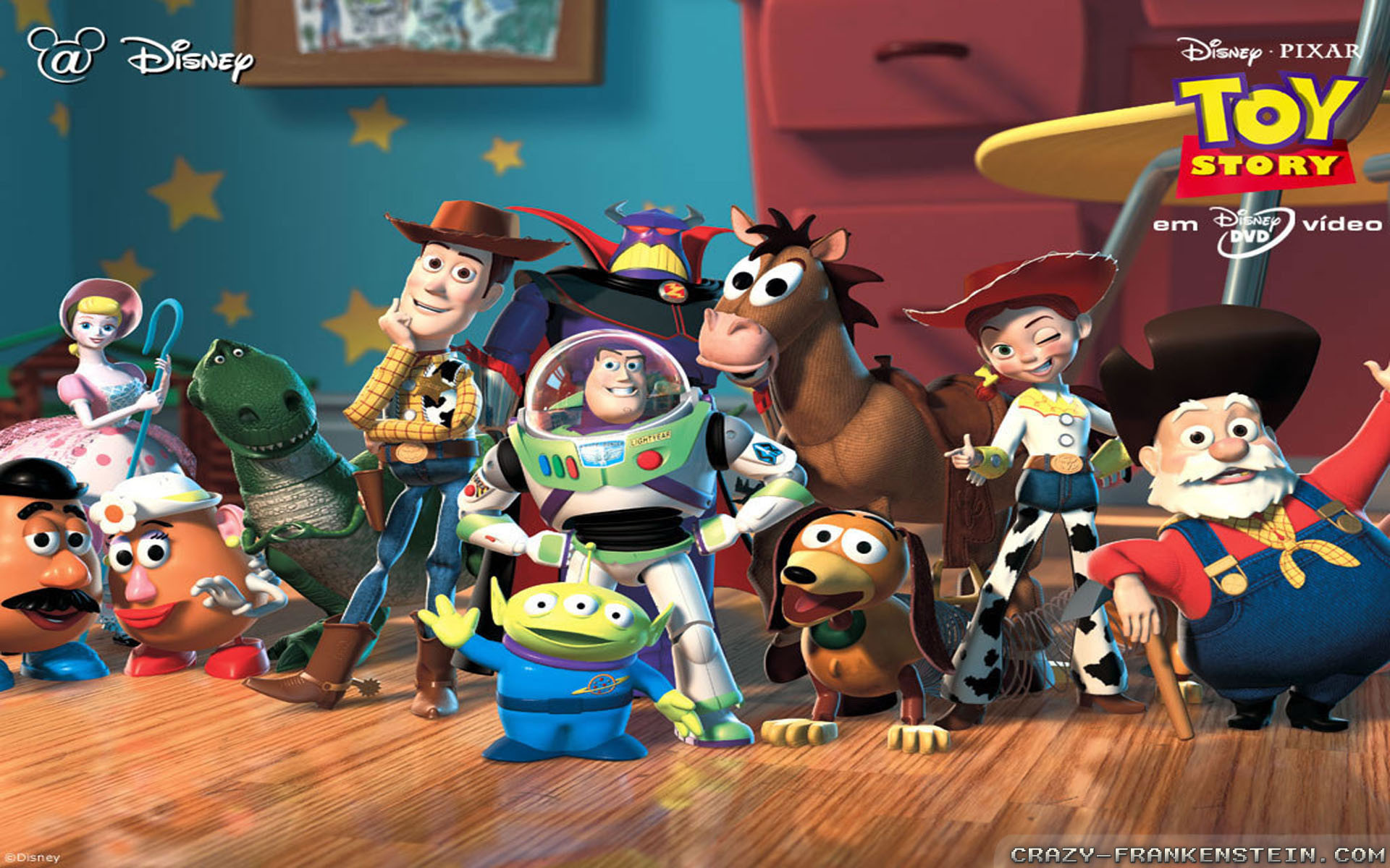 1920x1200 Wallpaper: Pixar Toy Story 3 movie. Resolution: 1024x768 | 1280x1024 |  1600x1200. Widescreen Res: 1440x900 | 1680x1050 |