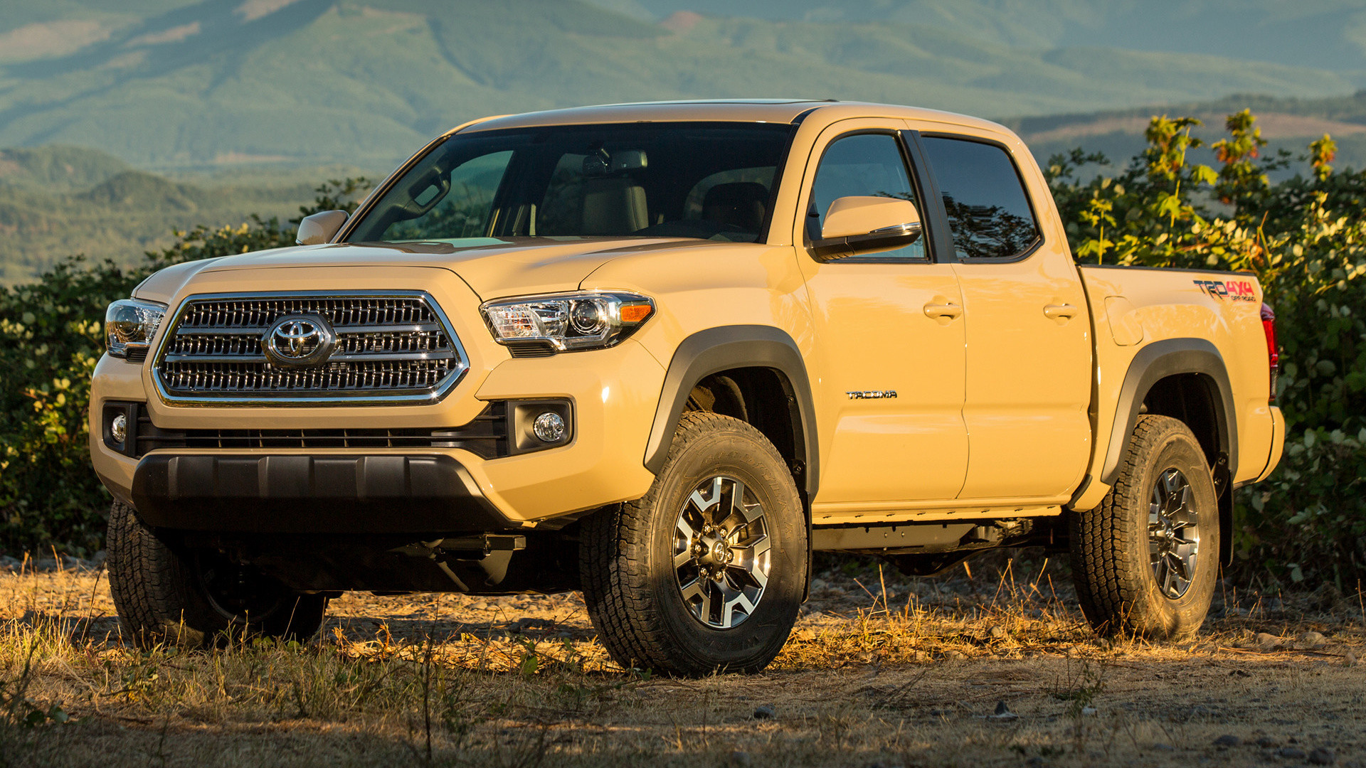1920x1080 Toyota Tacoma TRD Off-Road Double Cab (2016) Wallpapers .
