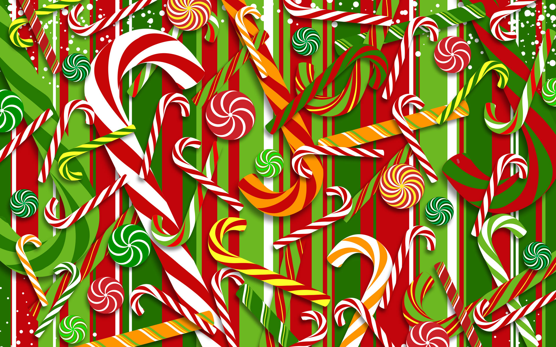 1920x1200 Download Candy Cane Wallpaper 38140