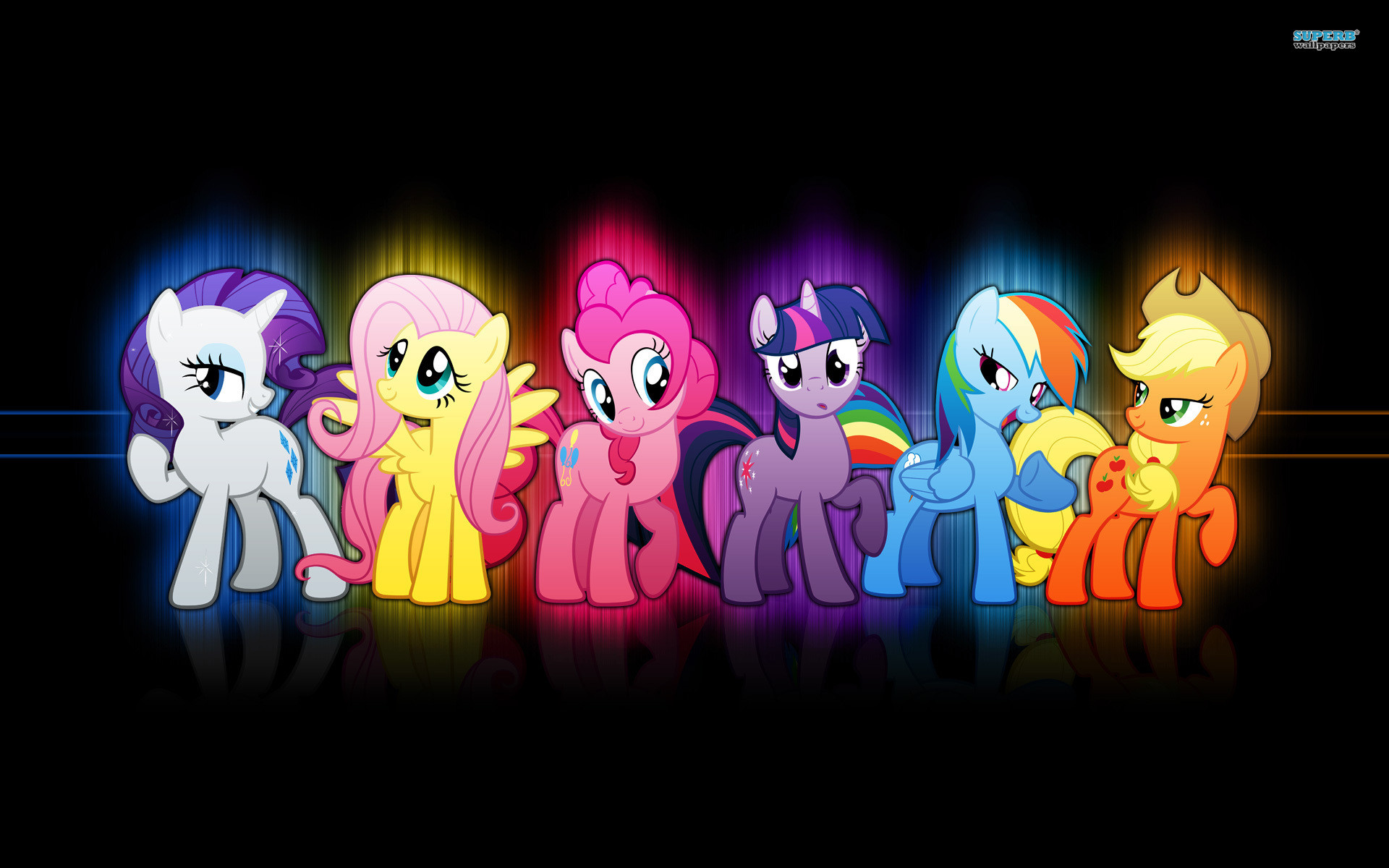 my little pony friendship is magic wallpaper (75+ images)