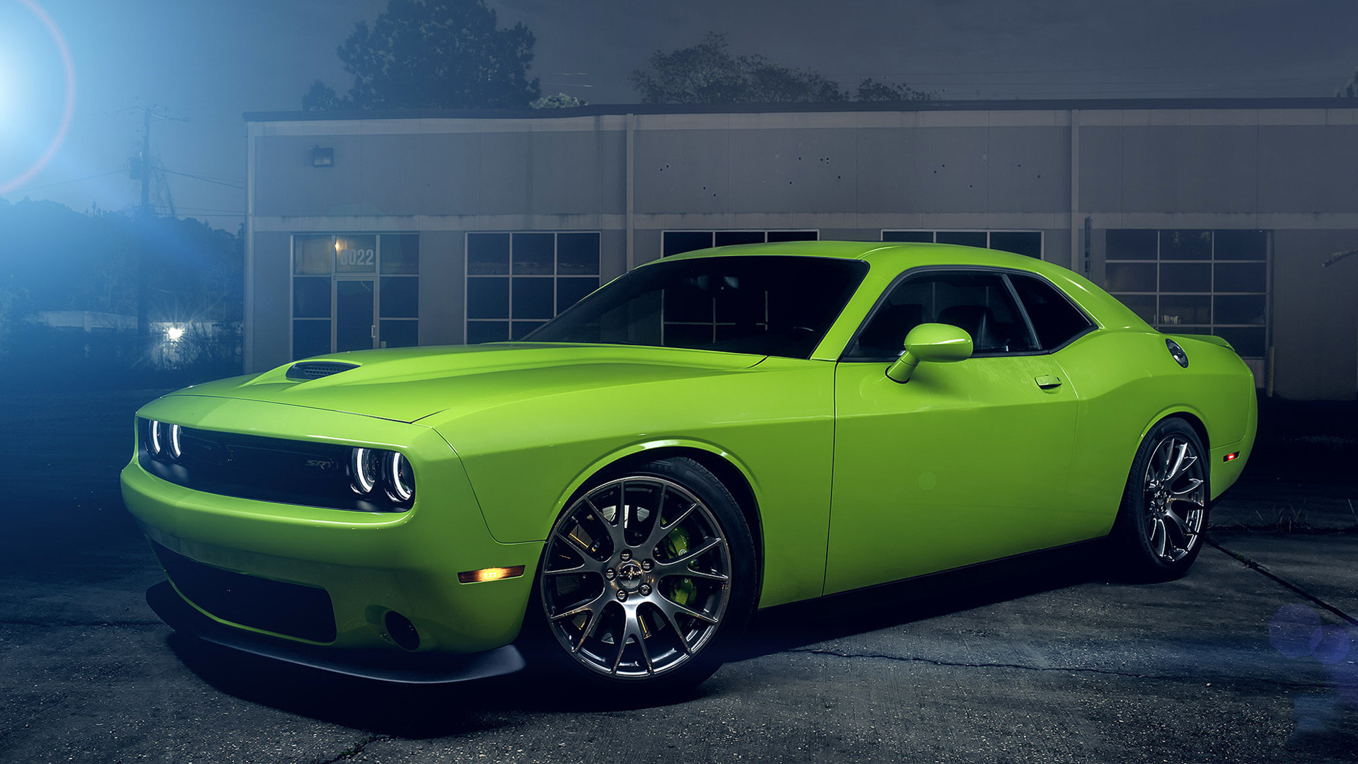 1920x1080 Dodge Challenger Srt Hellcat Green Wallpaper Hd Car Wallpapers