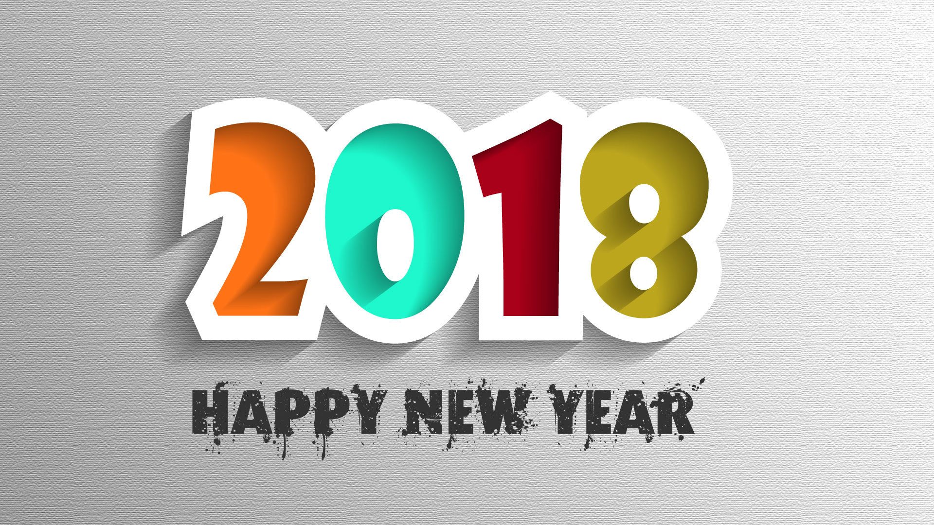 1920x1080 2018 Happy New Year Desktop Wallpaper 62291