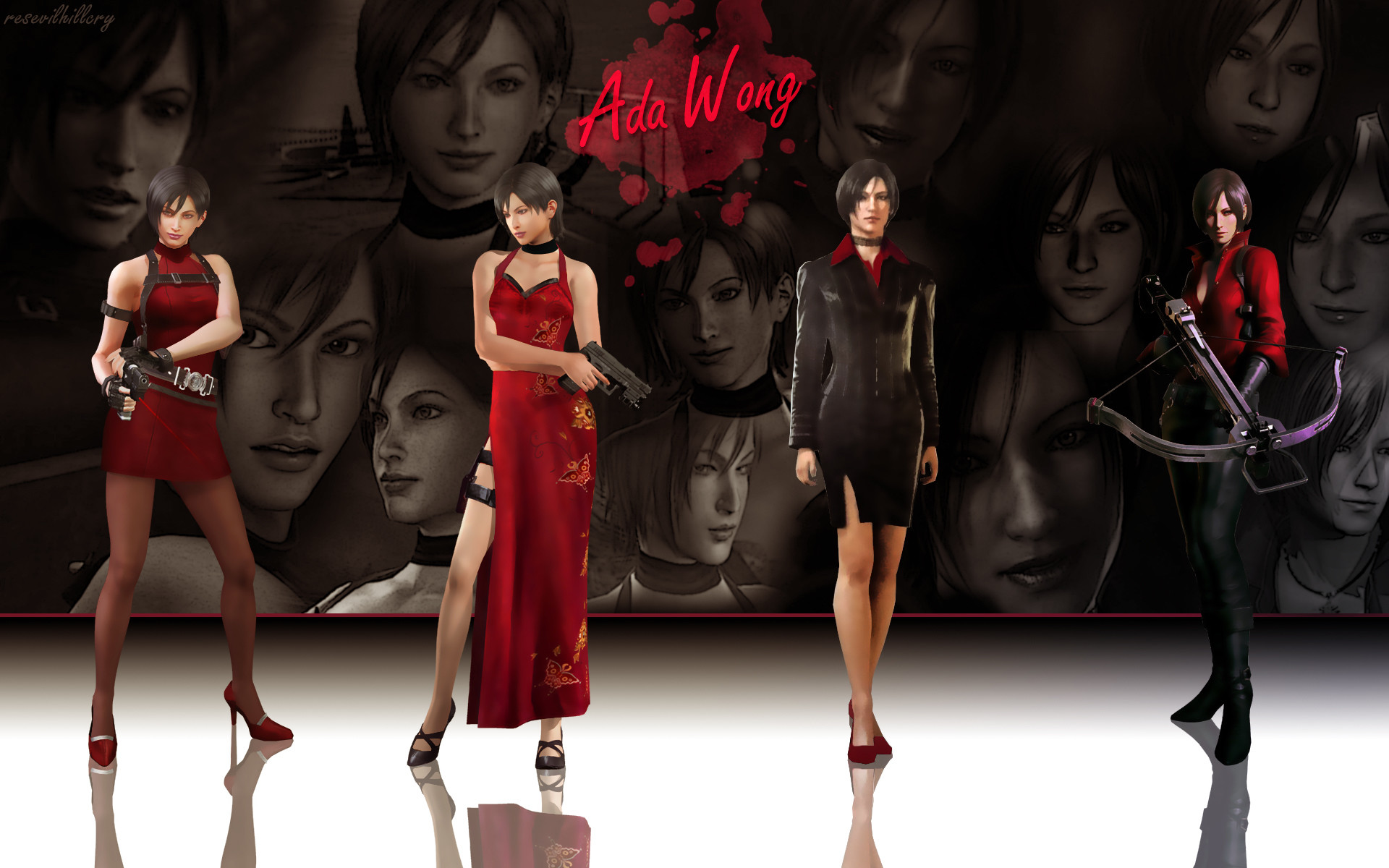 1920x1200 Ada Wong Wallpaper 2 by Yokoylebirisi Ada Wong Wallpaper 2 by Yokoylebirisi