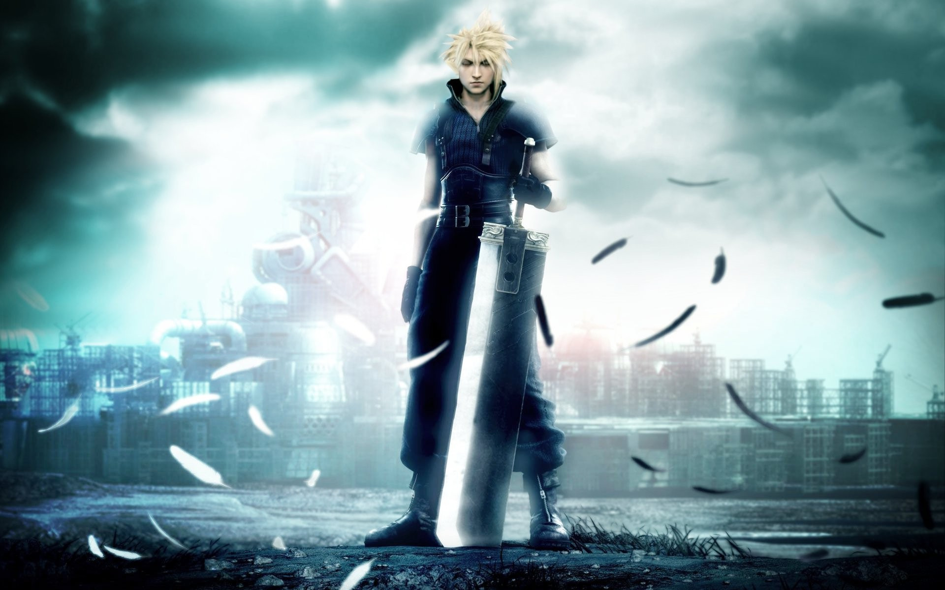 1920x1200 Final Fantasy VII HD Wallpaper 3 - 1920 X 1200