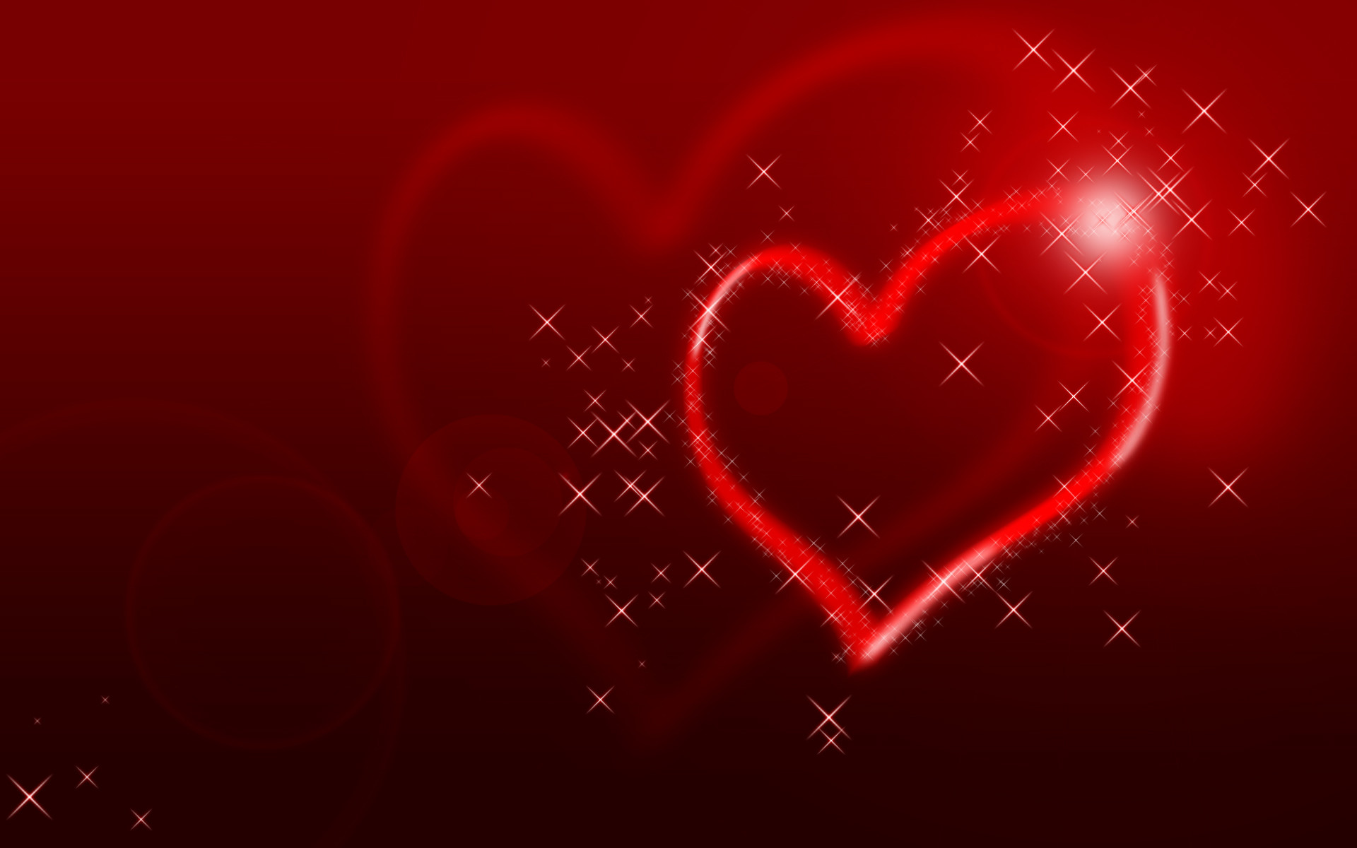 1920x1200 Glittering Heart Wallpapers | HD Wallpapers