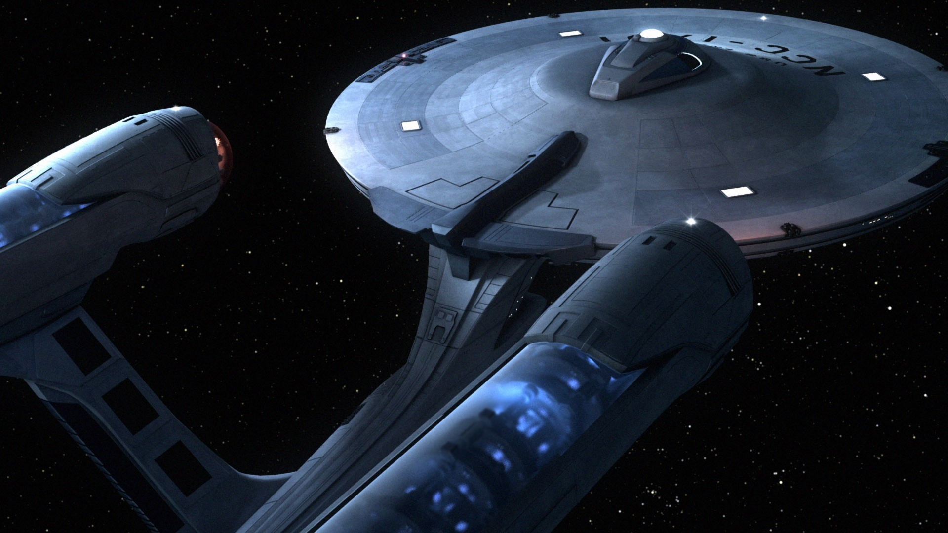 1920x1080 Starship Enterprise - Star Trek HD Wallpaper