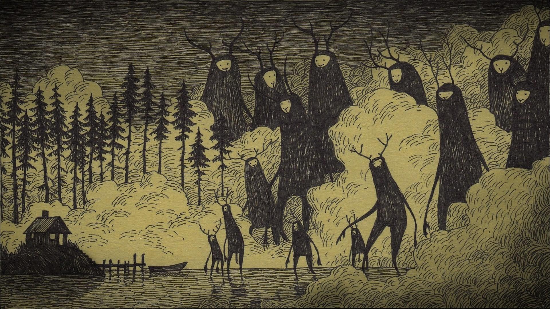 creepy wallpaper 65 images