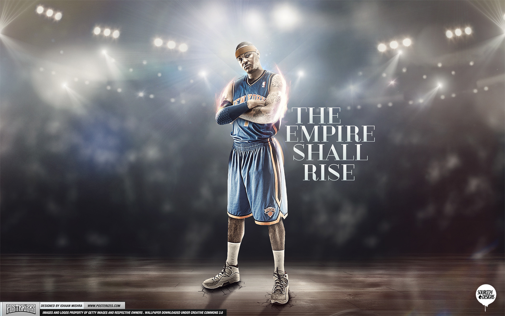1920x1200 Carmelo Anthony Knicks Empire Wallpaper by IshaanMishra on ... Carmelo  Anthony Wallpaper Knicks 2013