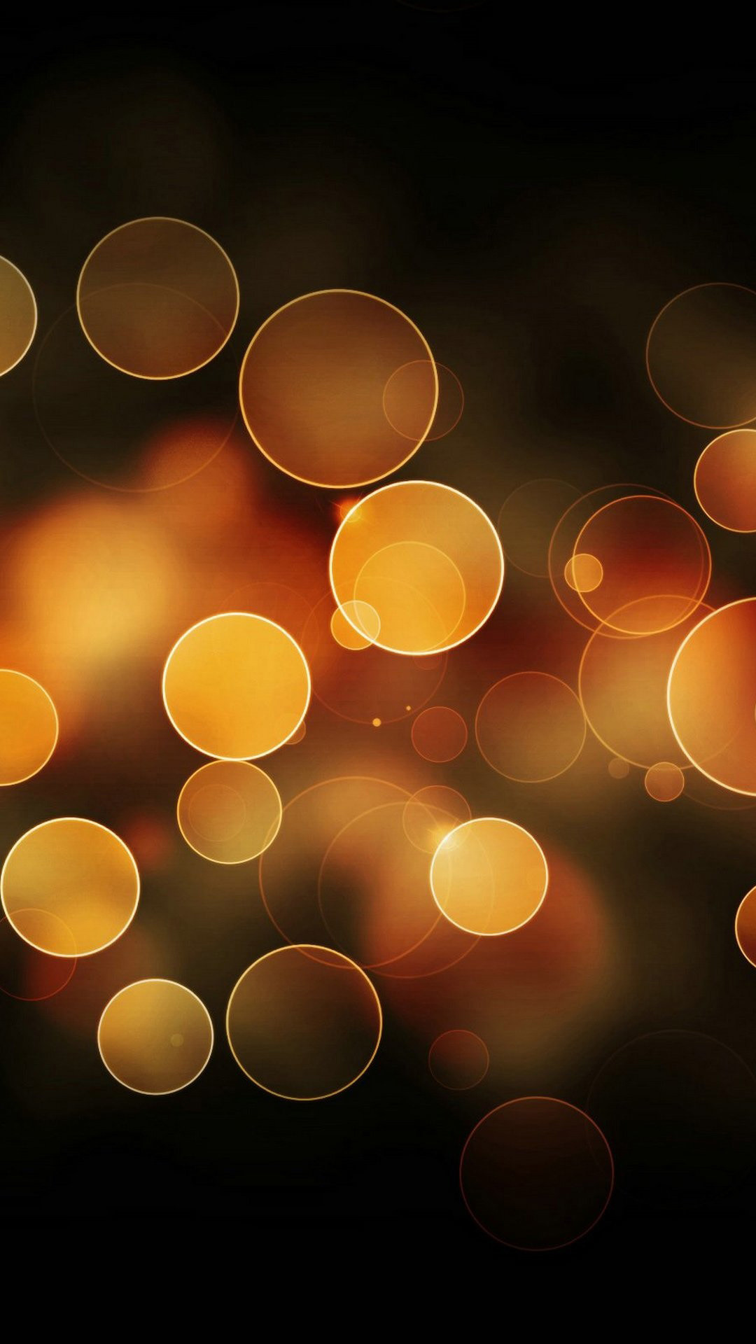 1080x1920 Gold Bokeh Lights Android Wallpaper ...