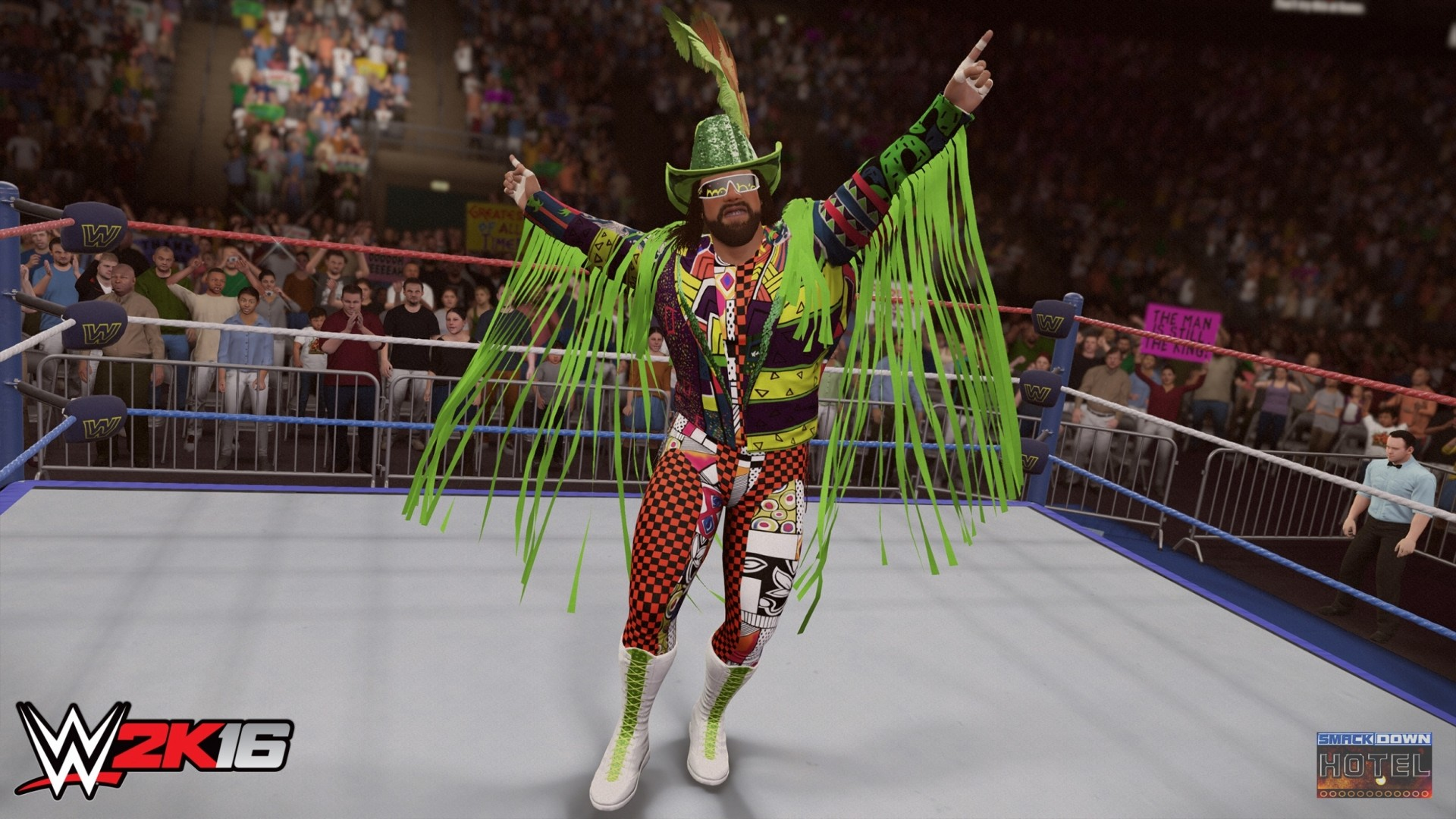 1920x1080 WWE2K16 Randy Savage Jake Roberts WWE2K16 Randy Savage 1