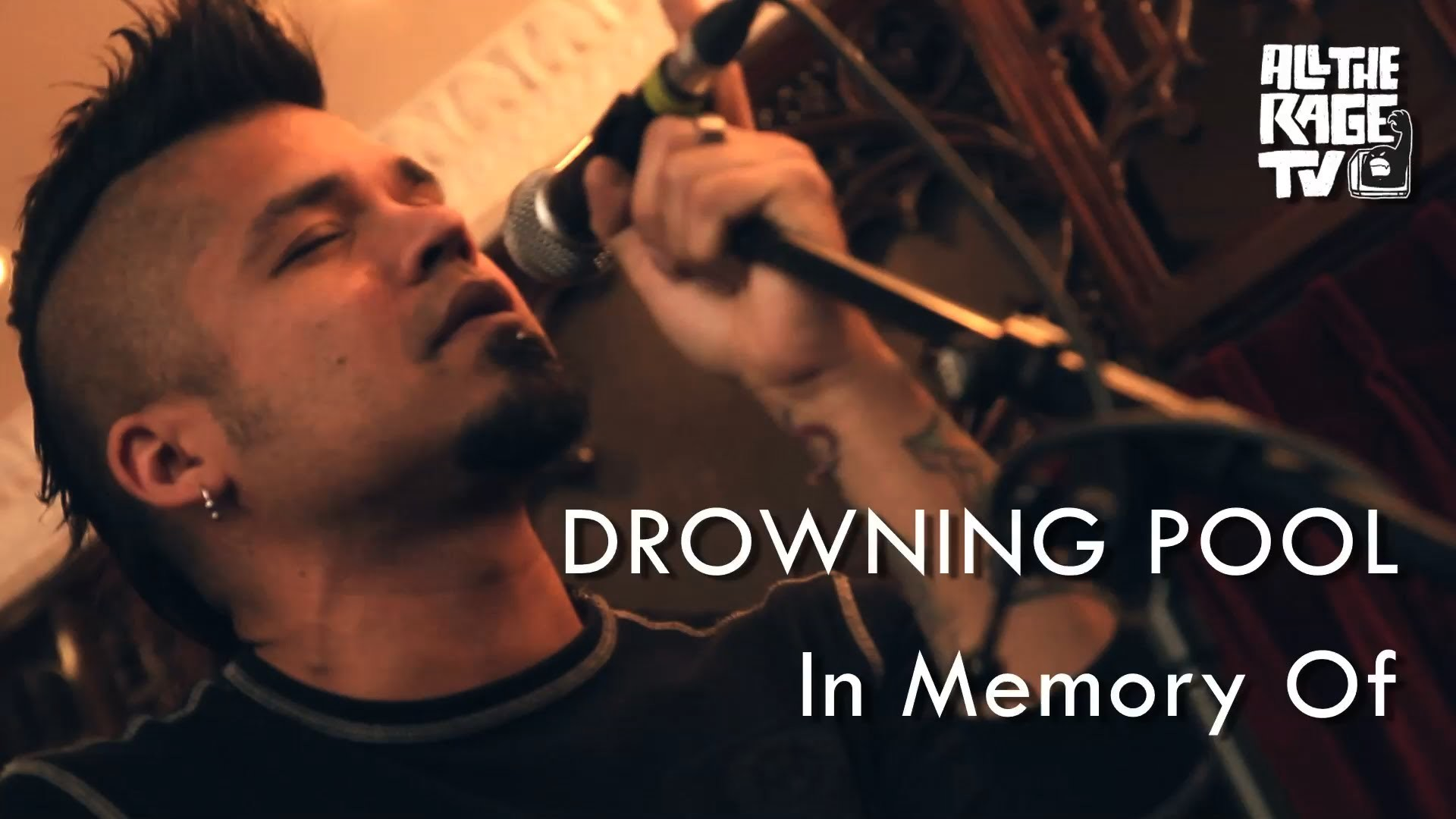 1920x1080 [ACOUSTIC] Drowning Pool - In Memory Of (All The Rage TV) - YouTube