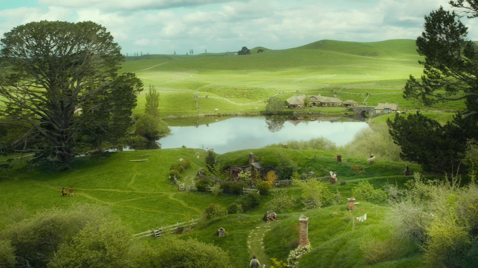 the hobbit the shire wallpaper (69+ images)