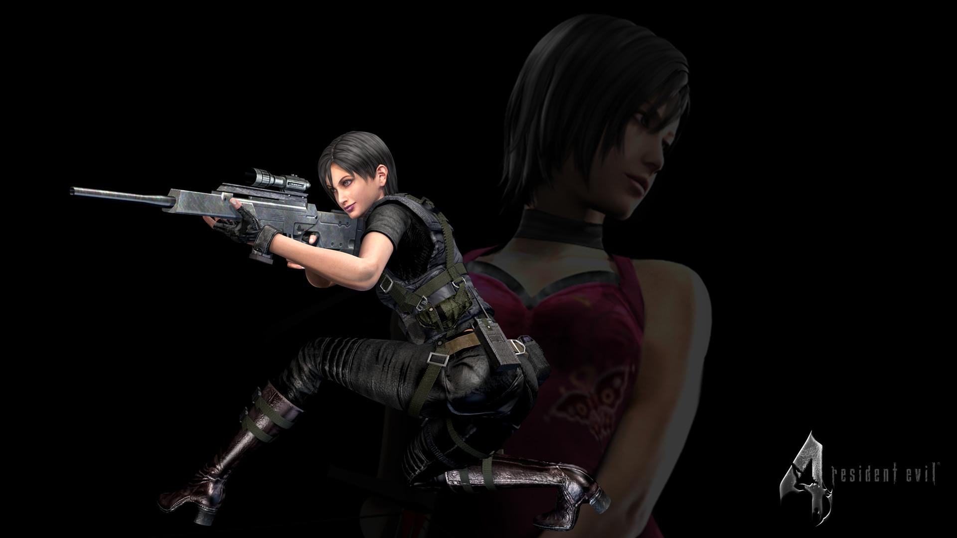1920x1080 Resident Evil 4 / Biohazard 4 - Ada Wong (RE4) | Steam Trading Cards Wiki |  FANDOM powered by Wikia