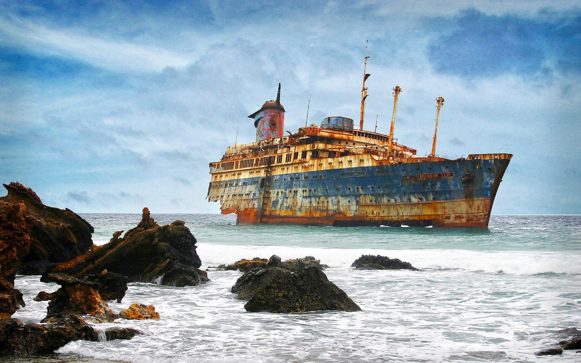 Shipwreck Wallpaper (72+ images)