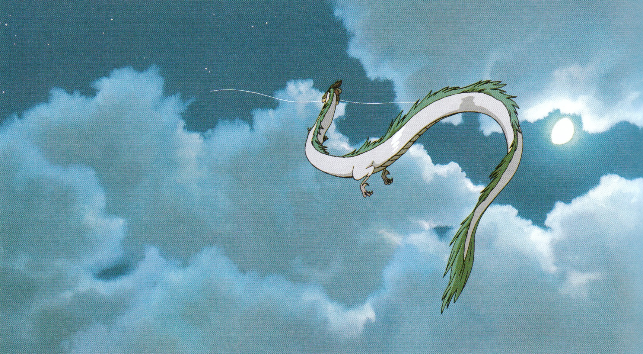 2131x1172 Haku (Dragon) · download Haku (Dragon) image