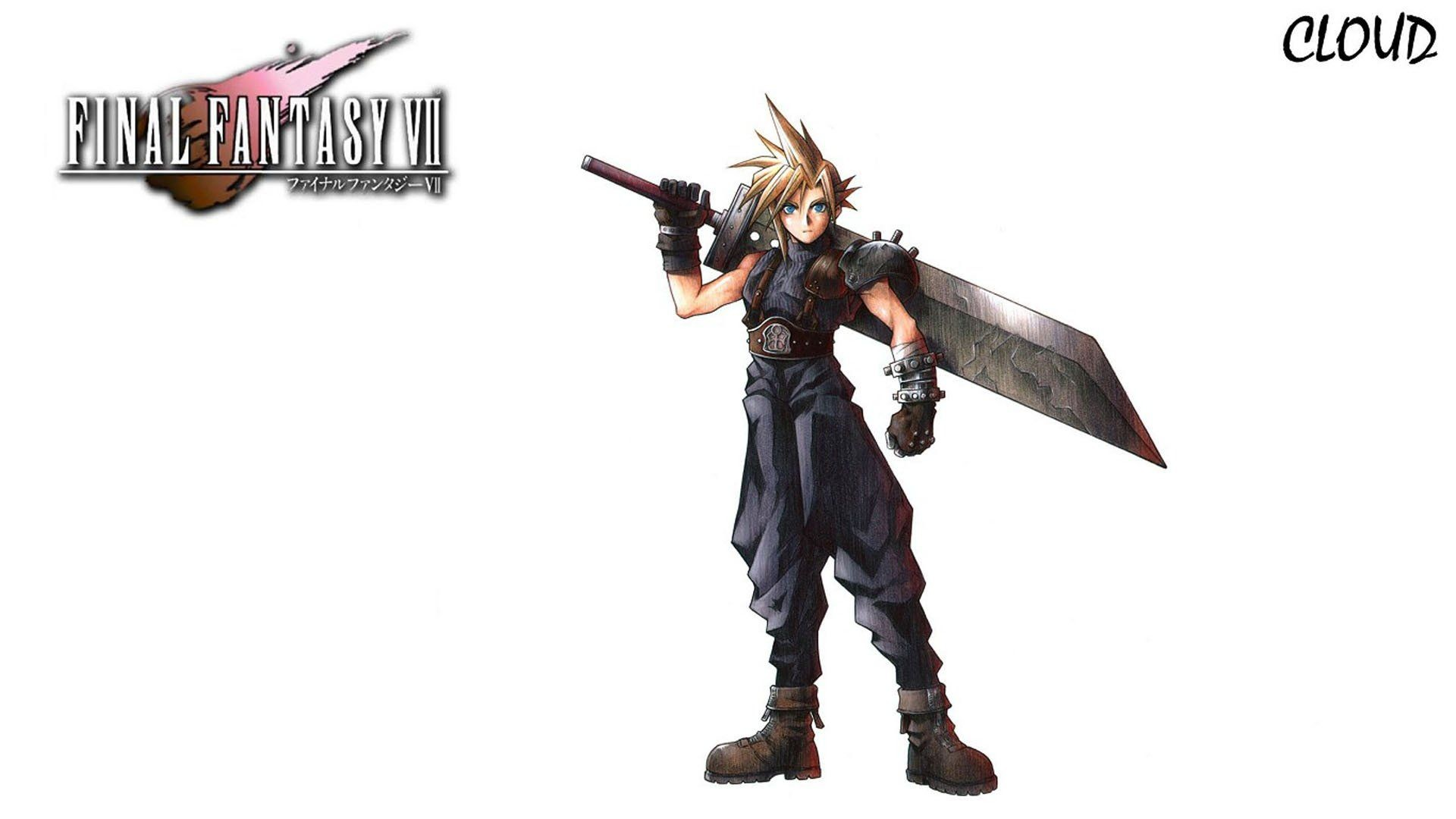 1920x1080 Final Fantasy VII video games Cloud Strife wallpaper
