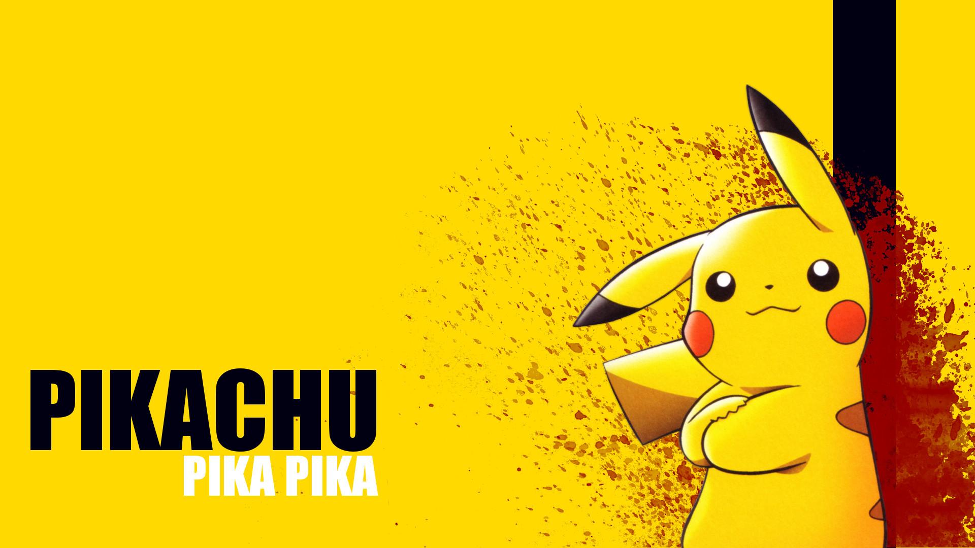 1920x1080 Kill bill pikachu wallpaper HD.
