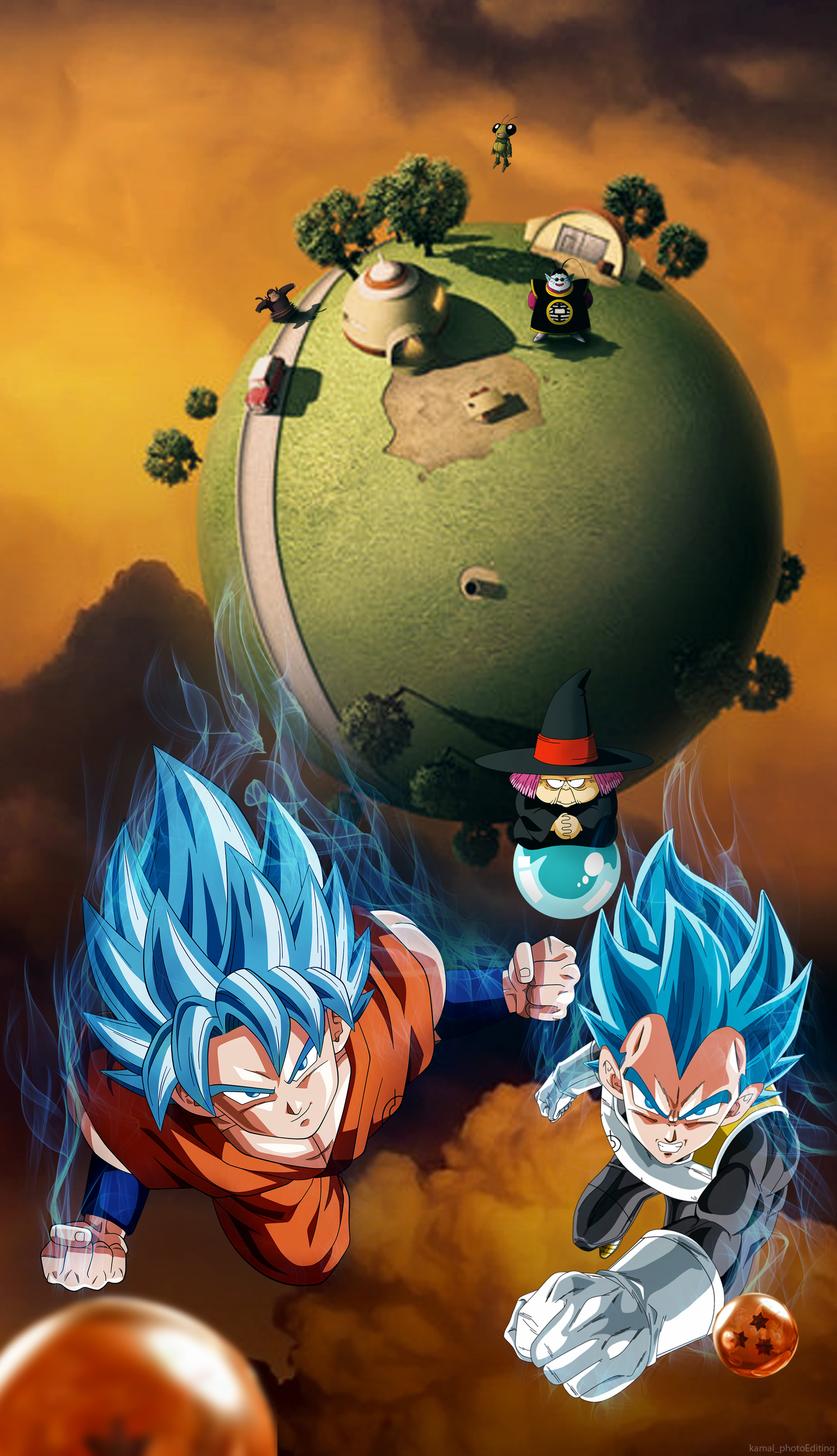 Dragonball super wallpaper for iphone