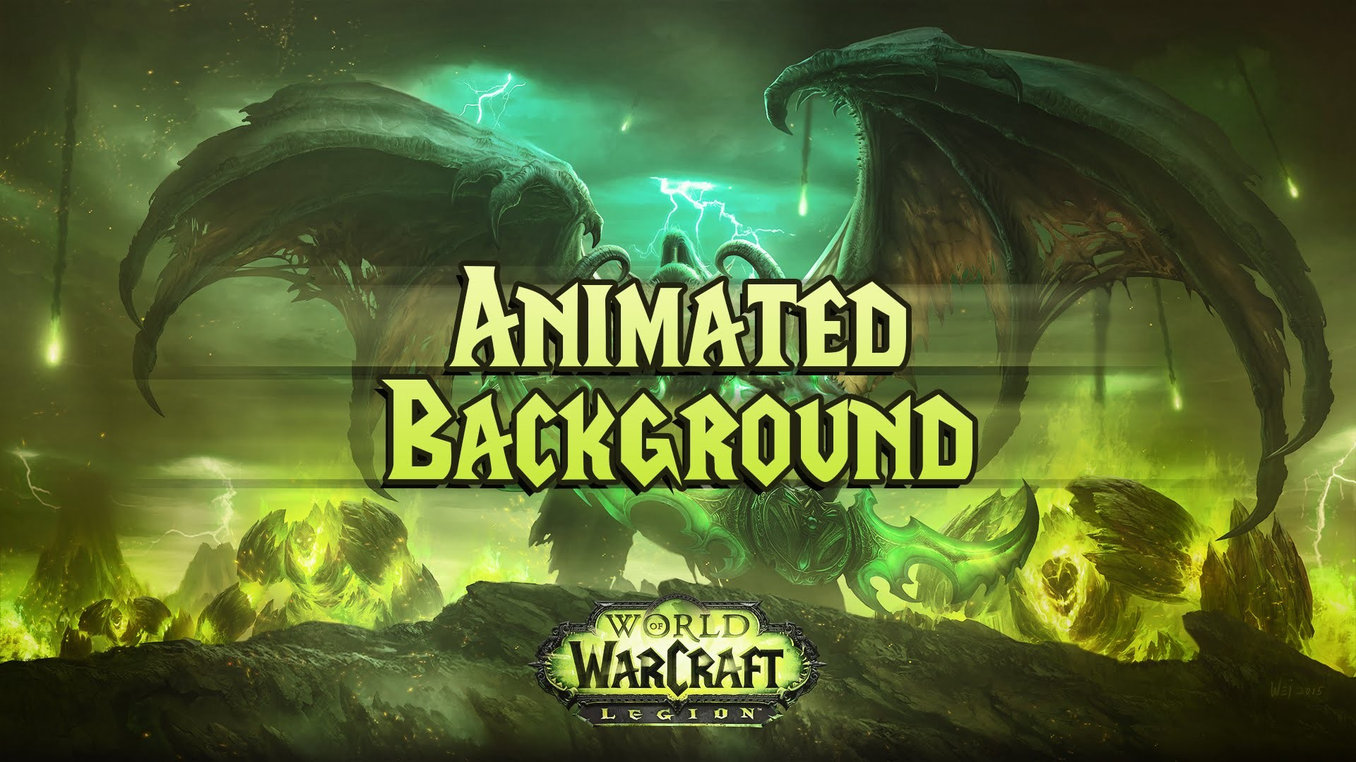 1920x1080 WoW Legion Animated Background [Download link in description]