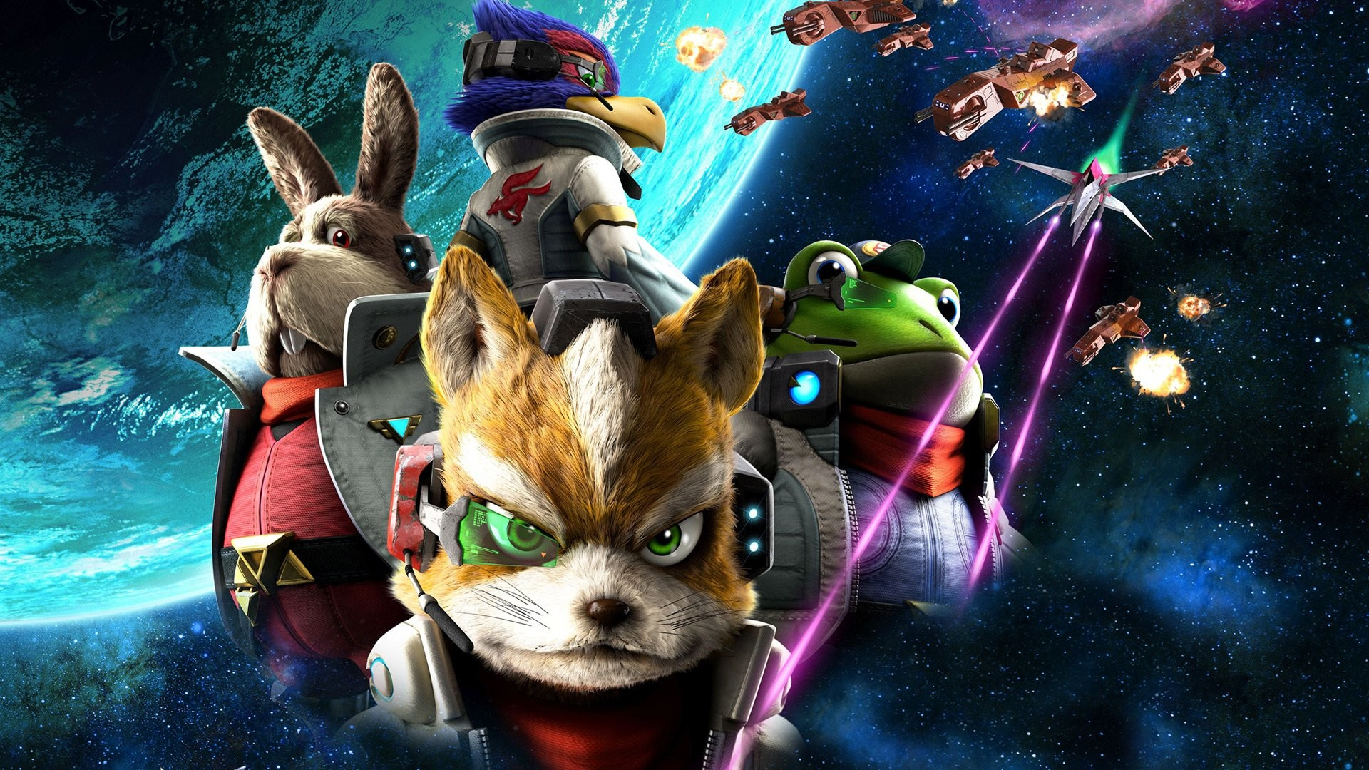 1920x1080 STAR FOX ZERO Suta Fokkusu Zero acion fighting 1sfz sci-fi futuristic .