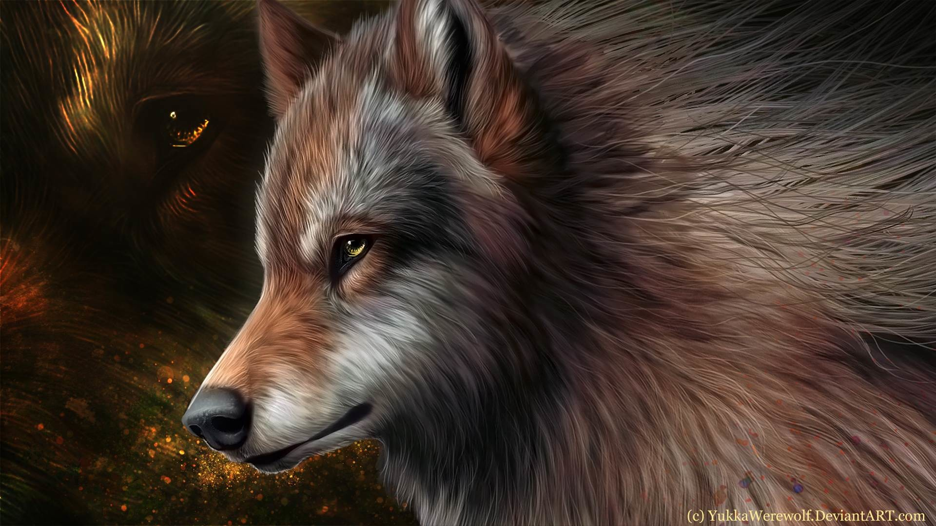1920x1080 Collection of Animated Wolf Wallpapers on HDWallpapers 1600×1200 Animated Wolf  Wallpapers | Adorable Wallpapers