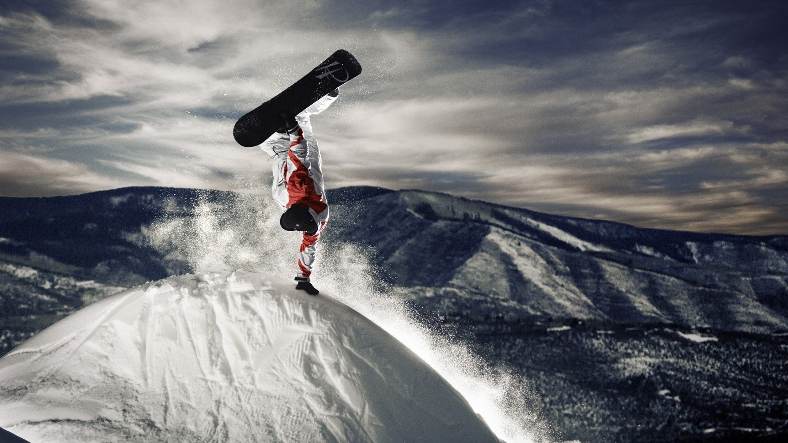 2560x1440 Snowboard Wallpaper