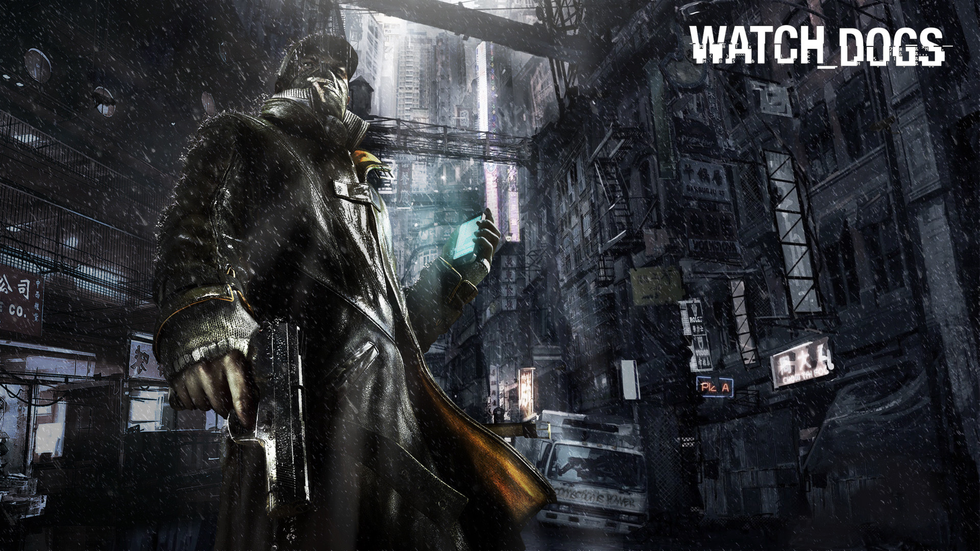 1920x1080 Watch Dogs Game