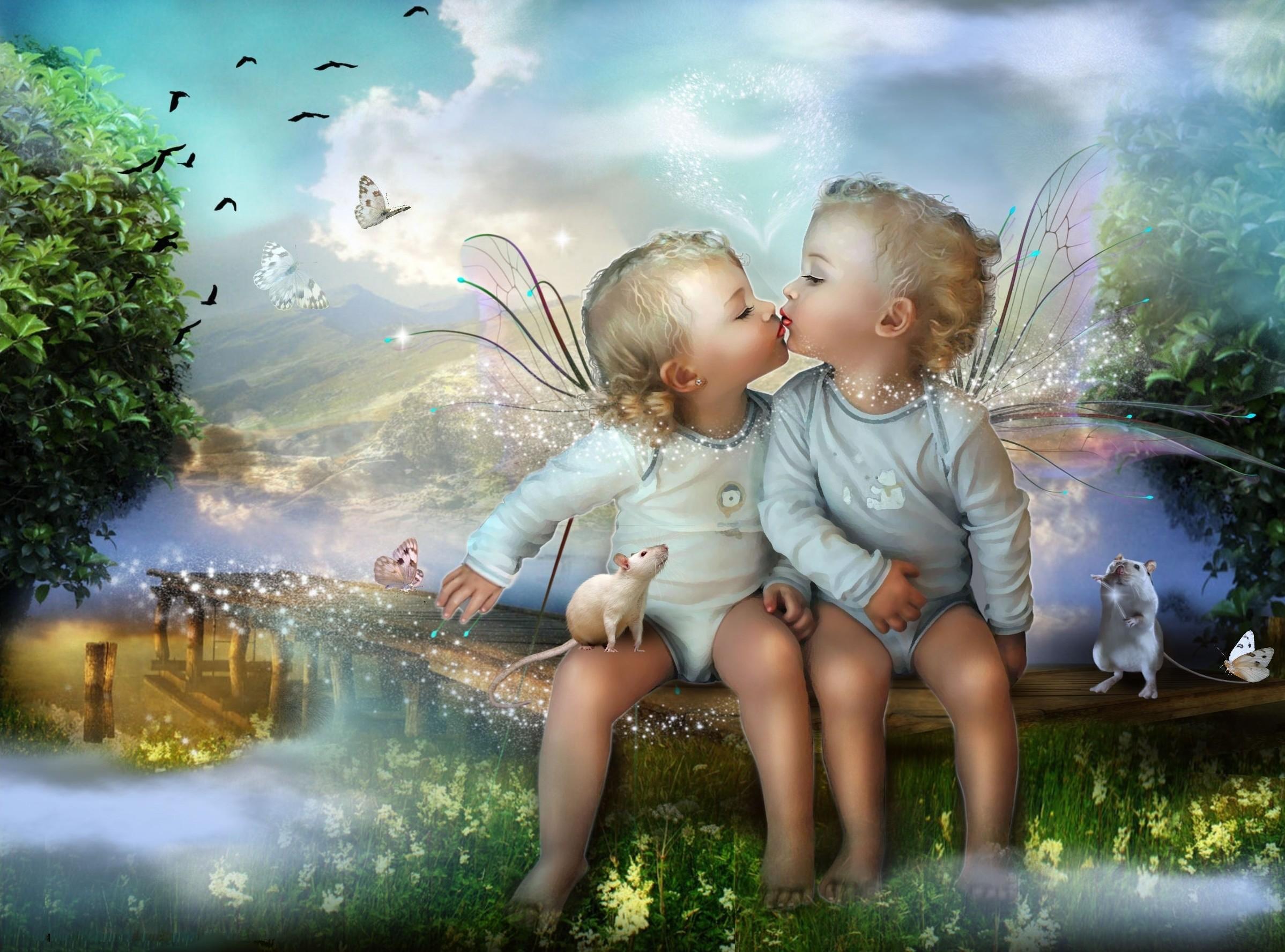 Cute Baby Fairies: Angel Babies Wallpaper (52+ Images