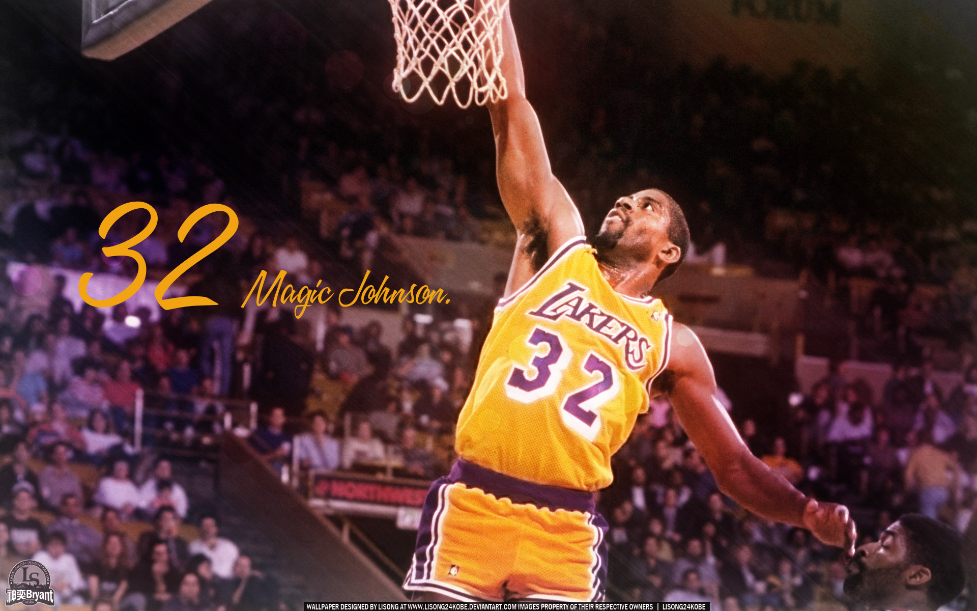 1920x1200 Magic Johnson #1