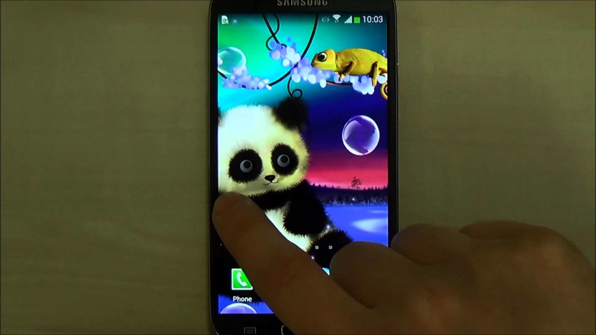 1920x1080 Animated Panda Live Wallpaper for Android