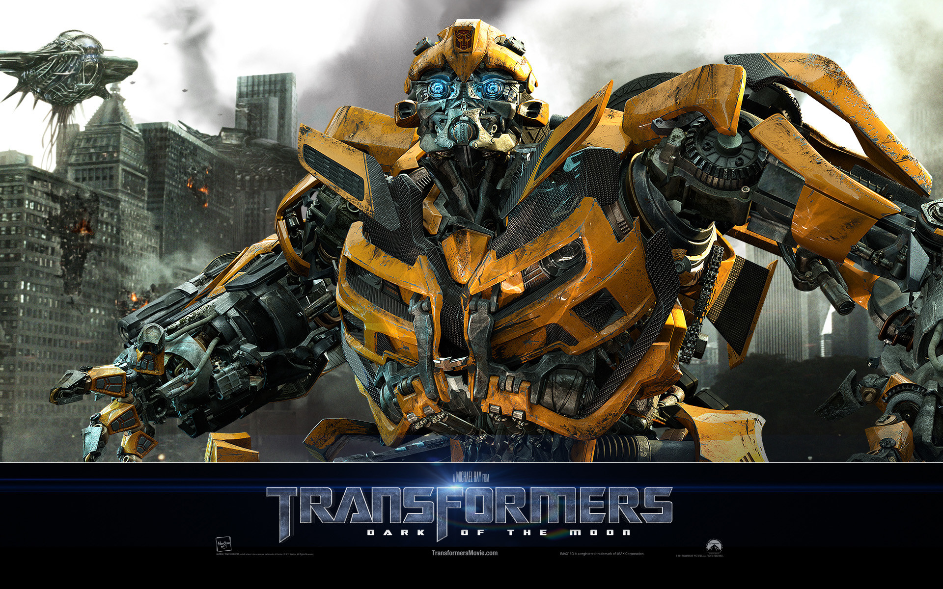 1920x1200 Bumblebee Transformers Dark of The Moon