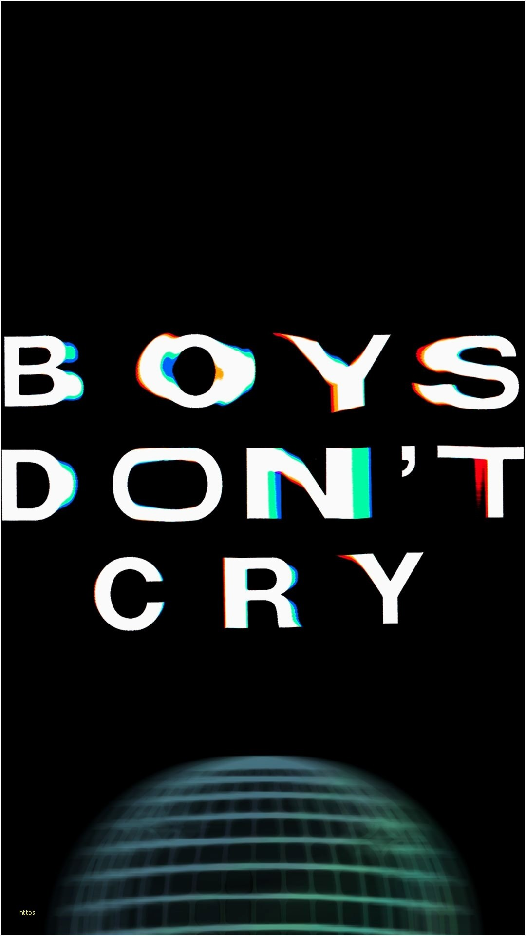 1080x1920 Simple boys dont cry wallpaper for phones