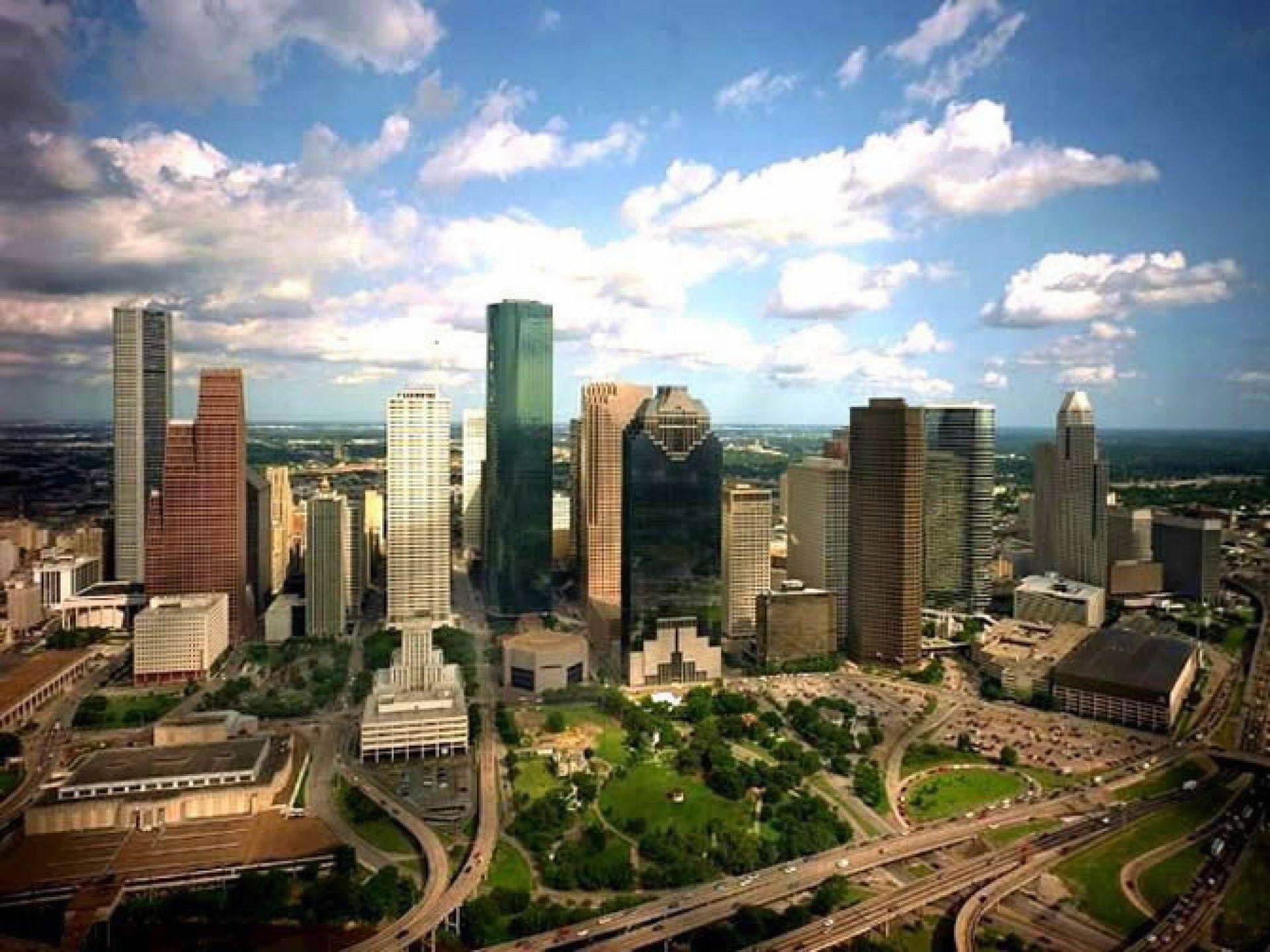 Houston Skyline Wallpaper Hd 63 Images