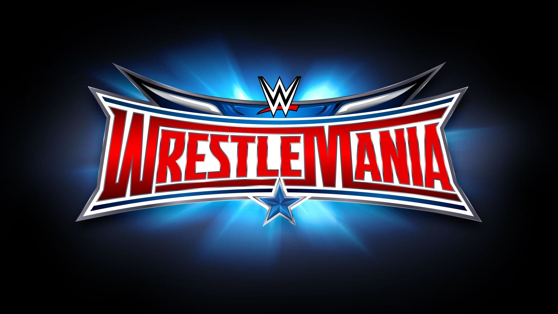 1920x1080  Wallpaper wwe, wrestlemania 32, wrestlemania