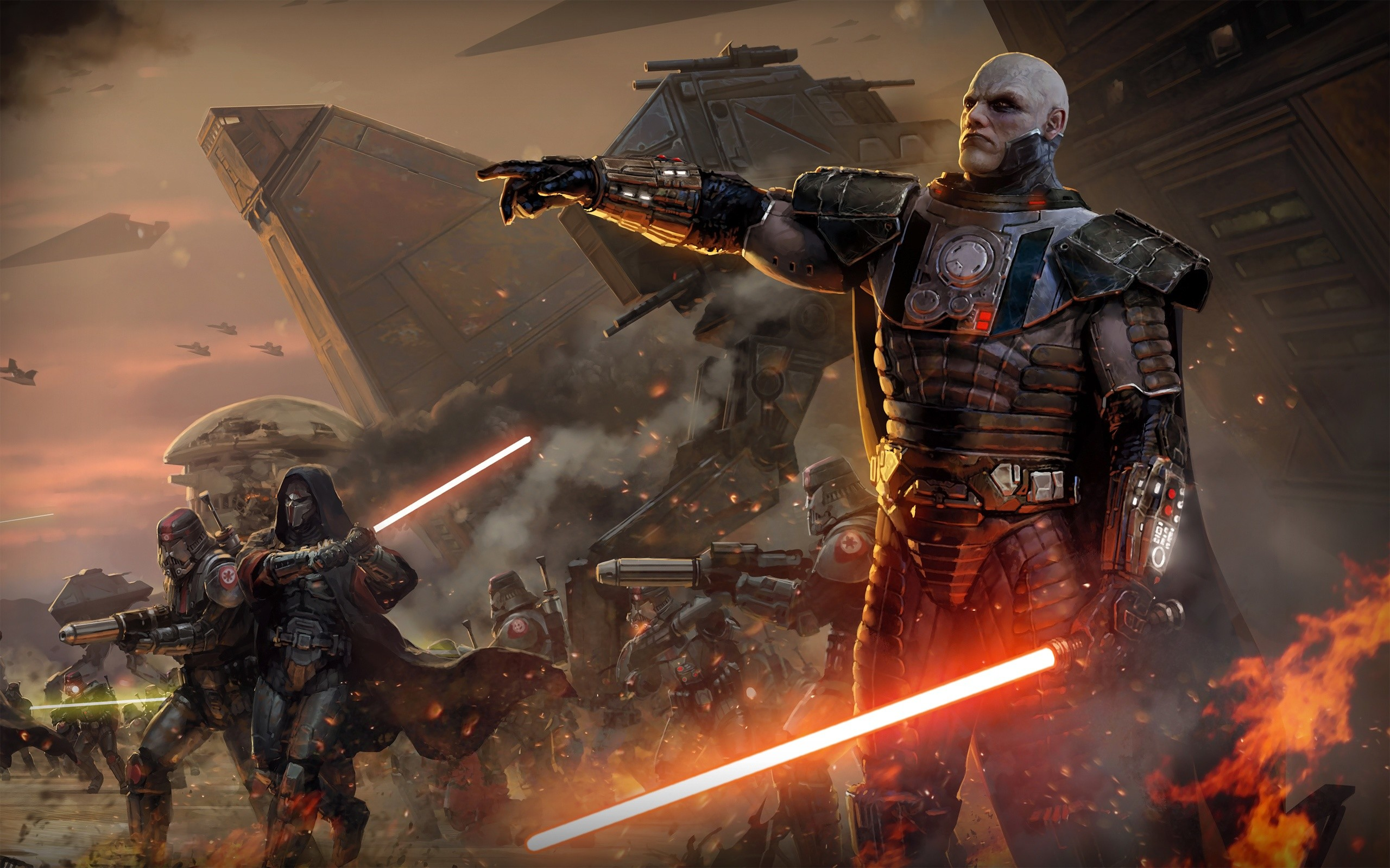 2560x1600 HD Wallpaper | Background ID:320057.  Video Game Star Wars: The Old  Republic