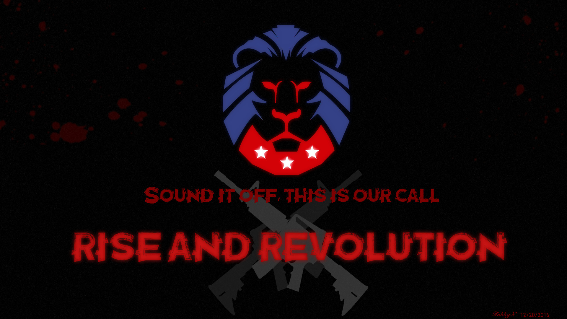 1920x1080 Trump Lion Wallpaper! (Rise by Skillet)♥ ...