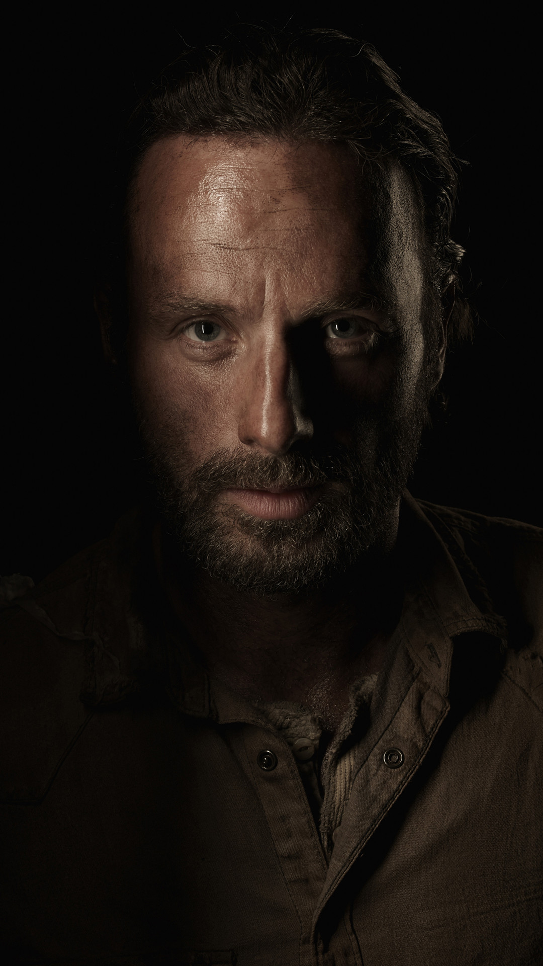 1080x1920 Andrew Lincoln The Walking Dead Android Wallpaper