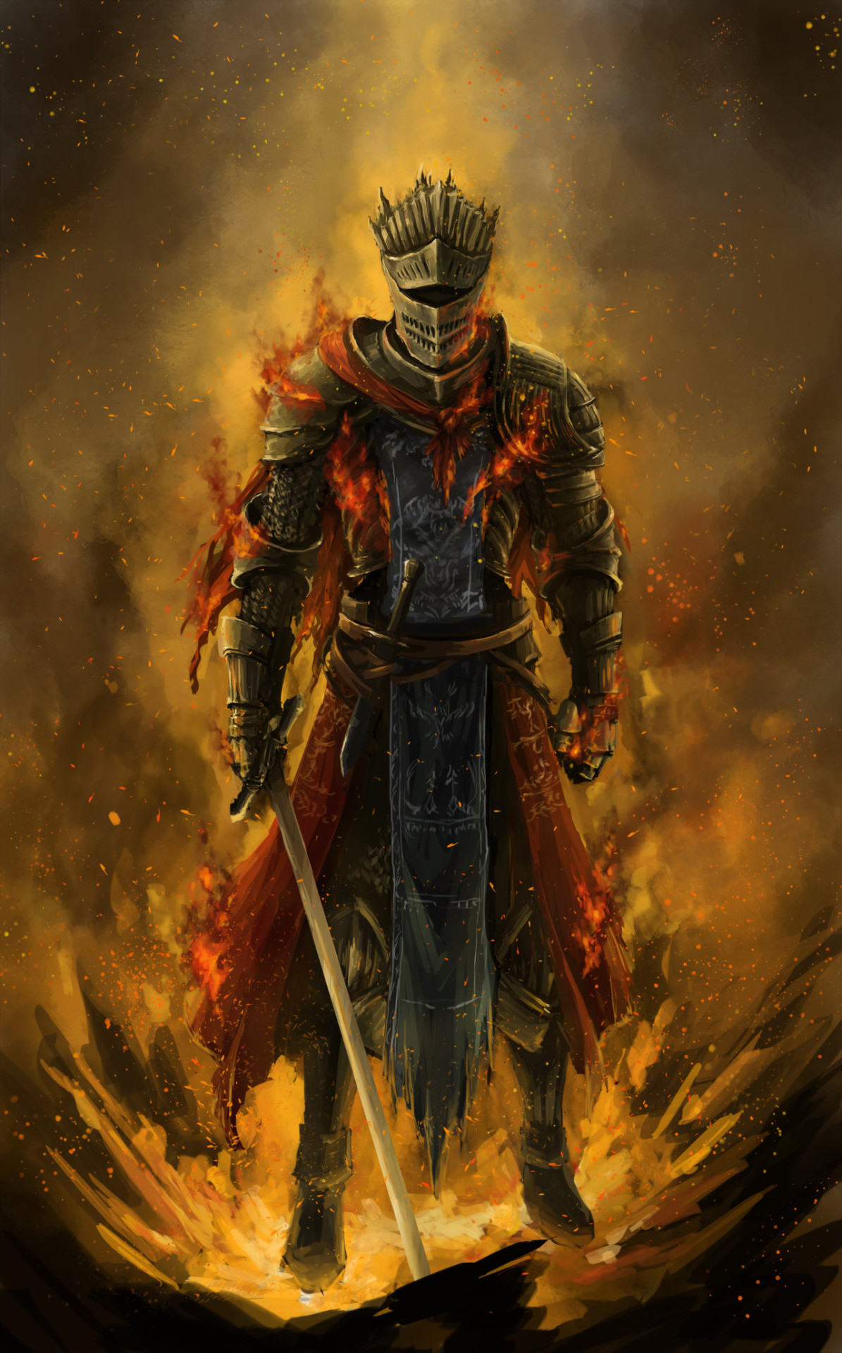 1195x1920 dark souls 3 red knight - Google Search ----- The Dark Souls