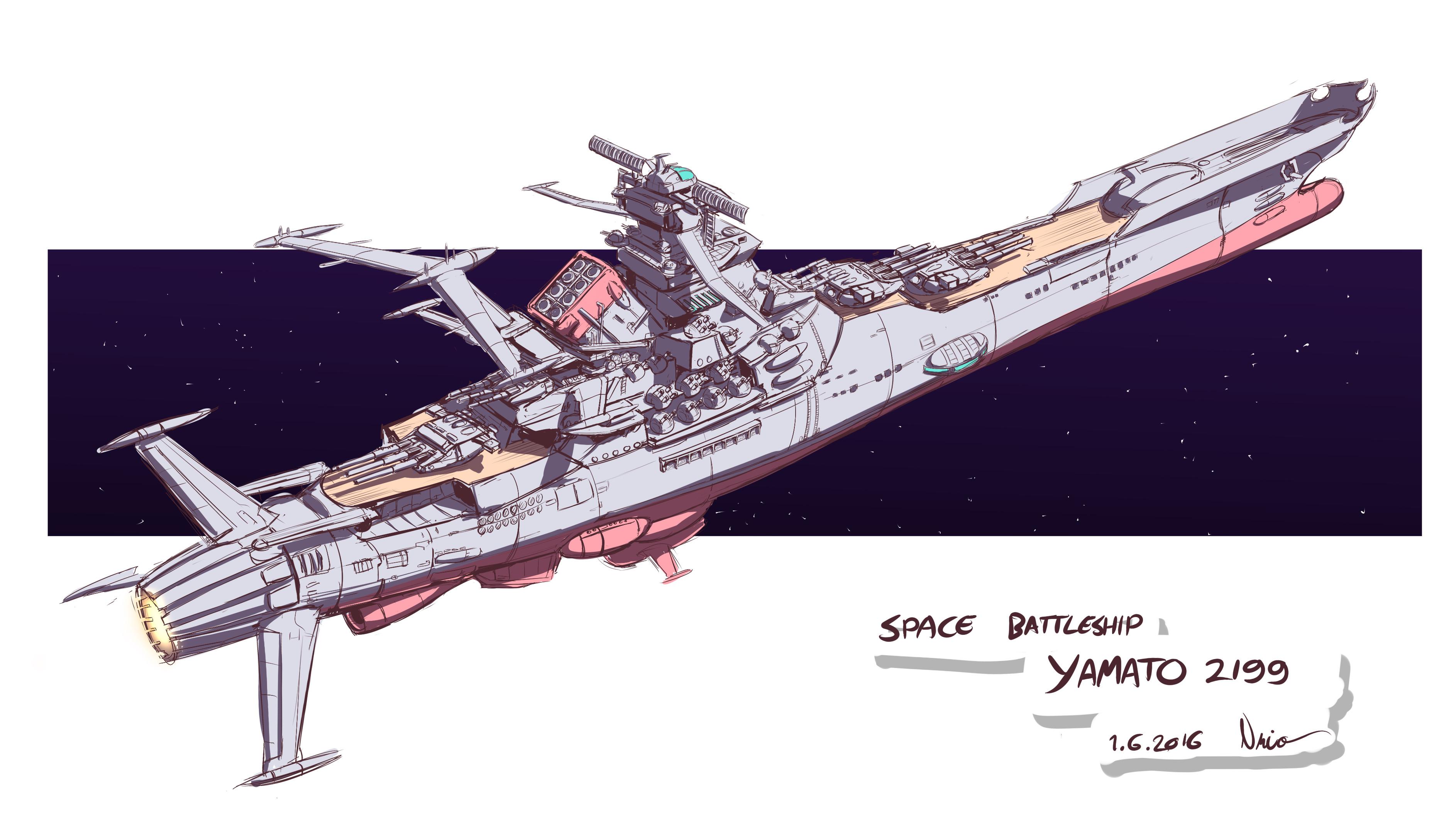 Sby2e1c48 Space Battleship Yamato 2199 Episode 1 Clipart Big