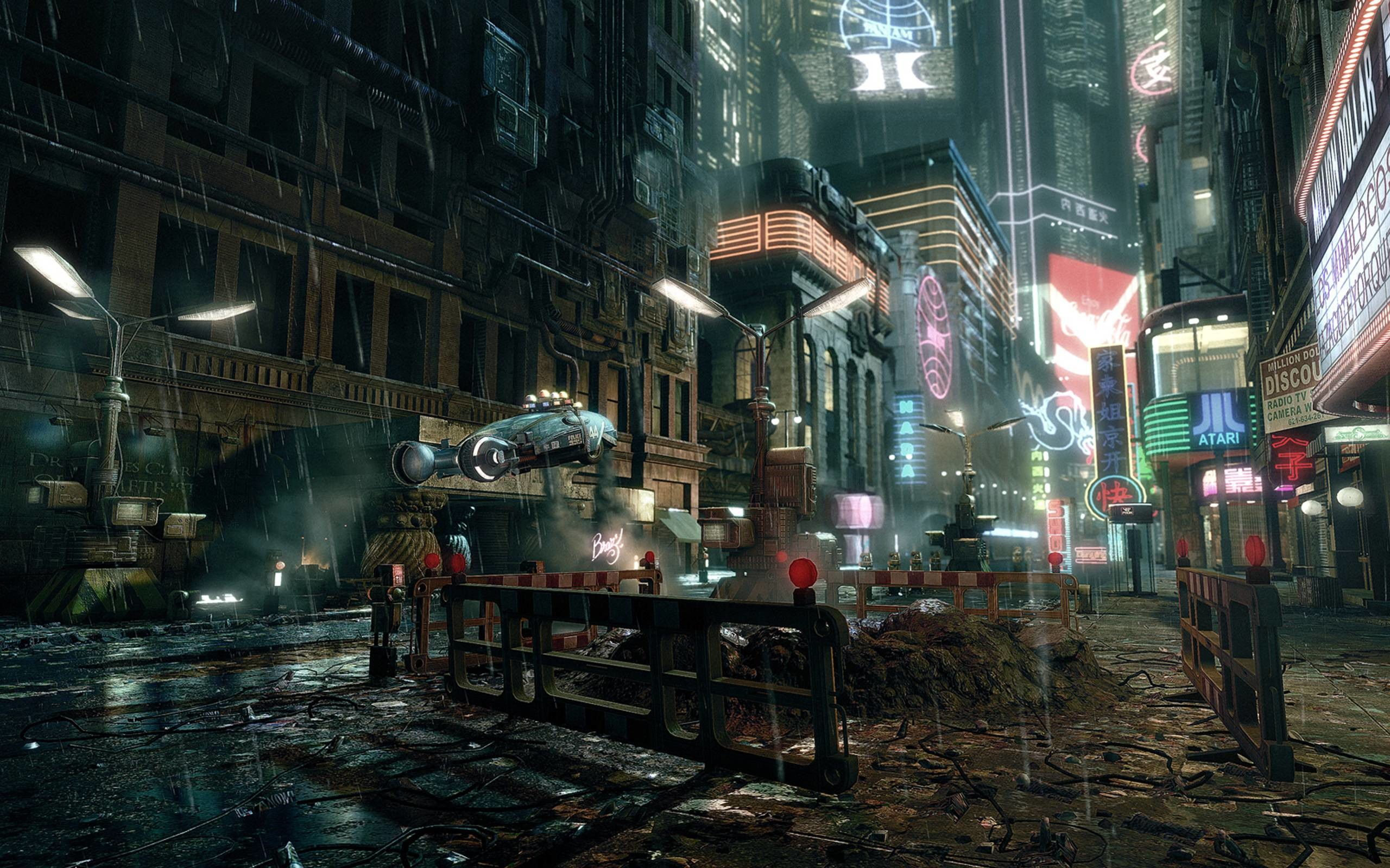 2560x1600 Wallpapers For > Futuristic City Wallpaper