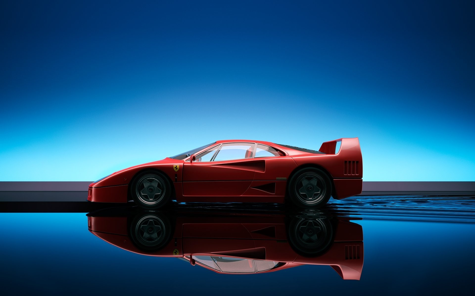1920x1200 Adorable HDQ Backgrounds of Ferrari F40,