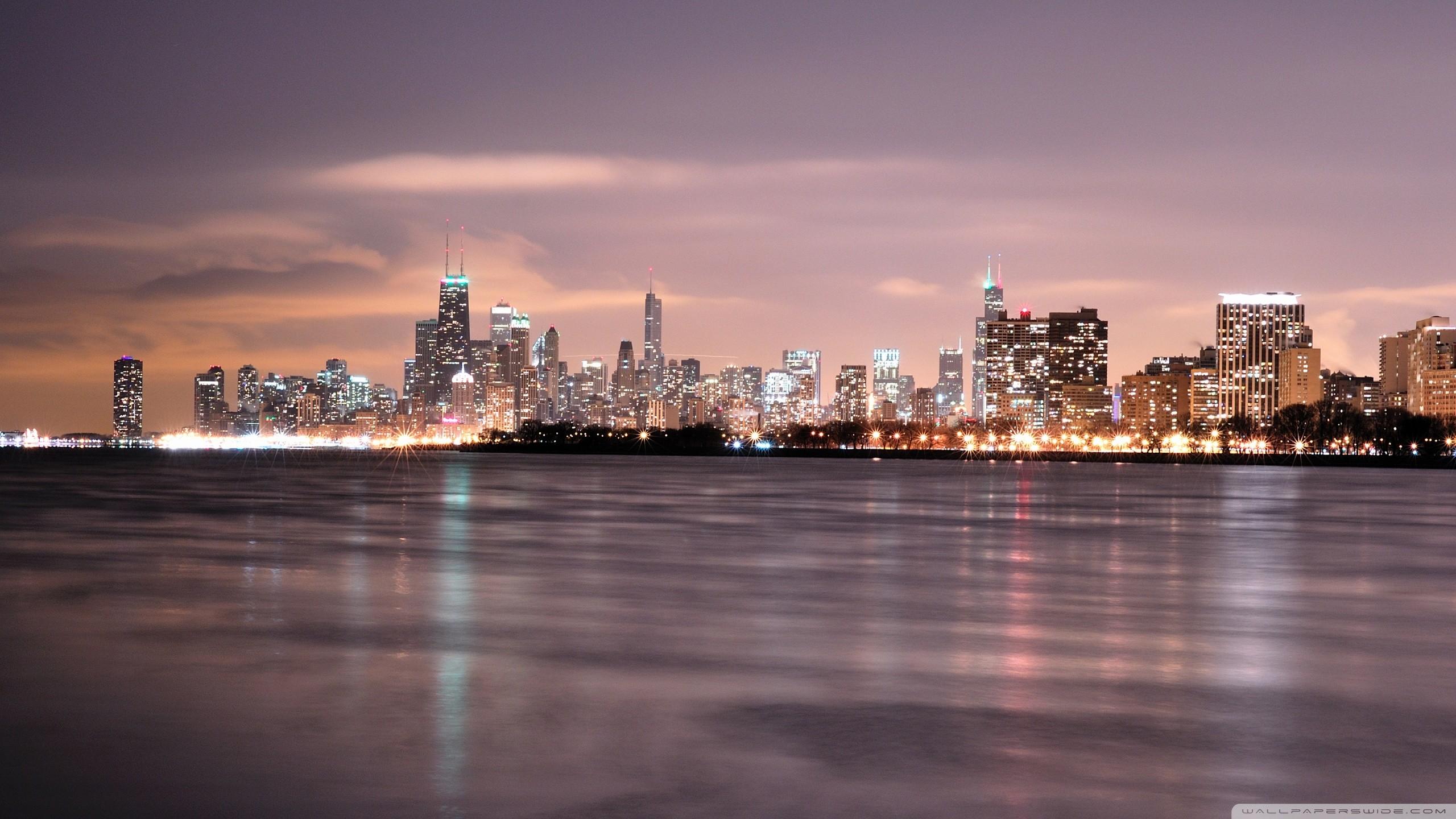 High Resolution Chicago Skyline Wallpaper 64 Images
