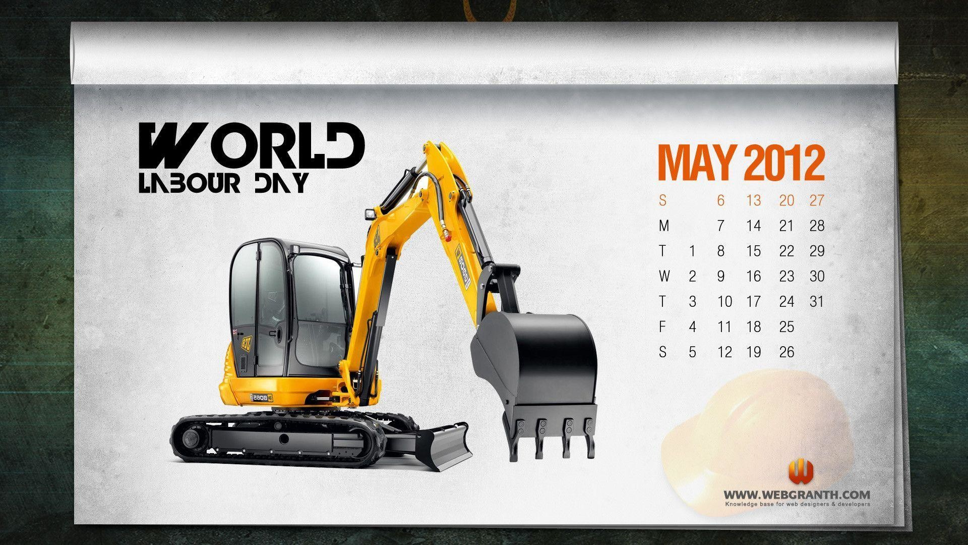 1920x1080 Download Free World Labor Day Calendar Wallpaper – Webgranth 2014